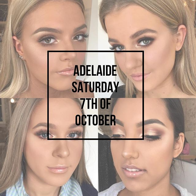 ❌ADELAIDE I will be available for makeup appointments on Saturday the 7th of October! Limited afternoon appointments available, to book please press the contact button in my bio 👆🏼👆🏼👆🏼❌