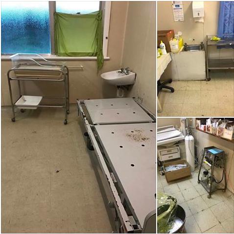 Birth suite at Republic of Nauru hospital. 2018