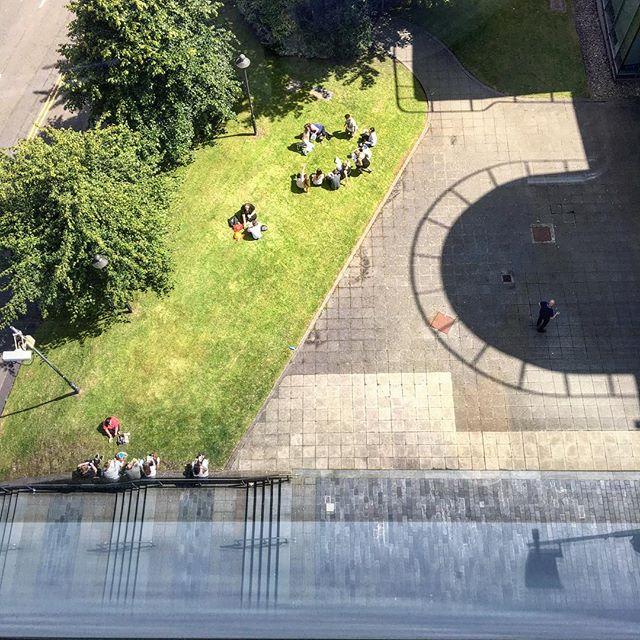 Lunchtime #100days #100dayproject #100daysoflookingdown #glasgow #scotland #summer