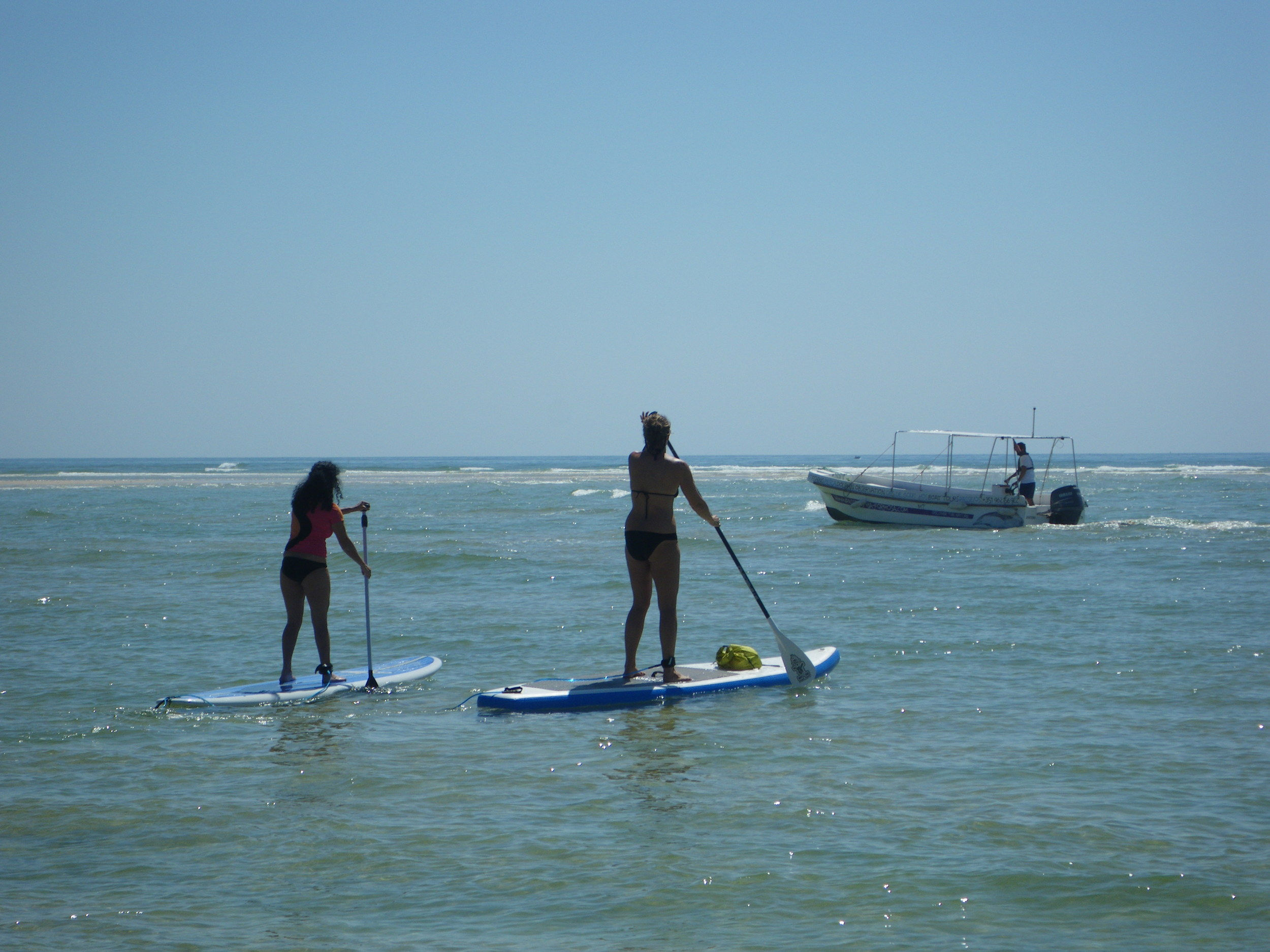SUP Touring in the Algarve.