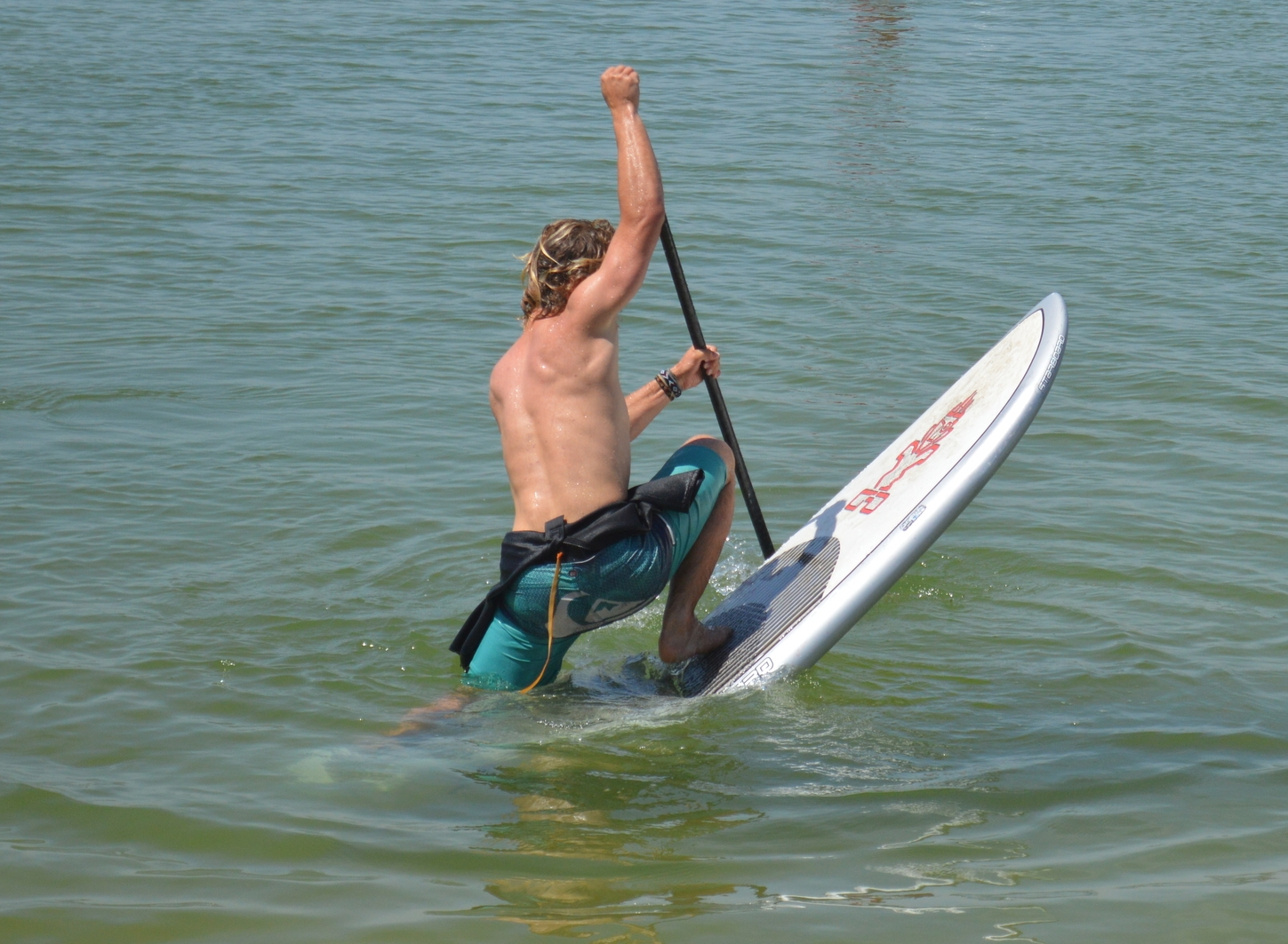 Sup Freestyle in the Ria Formosa