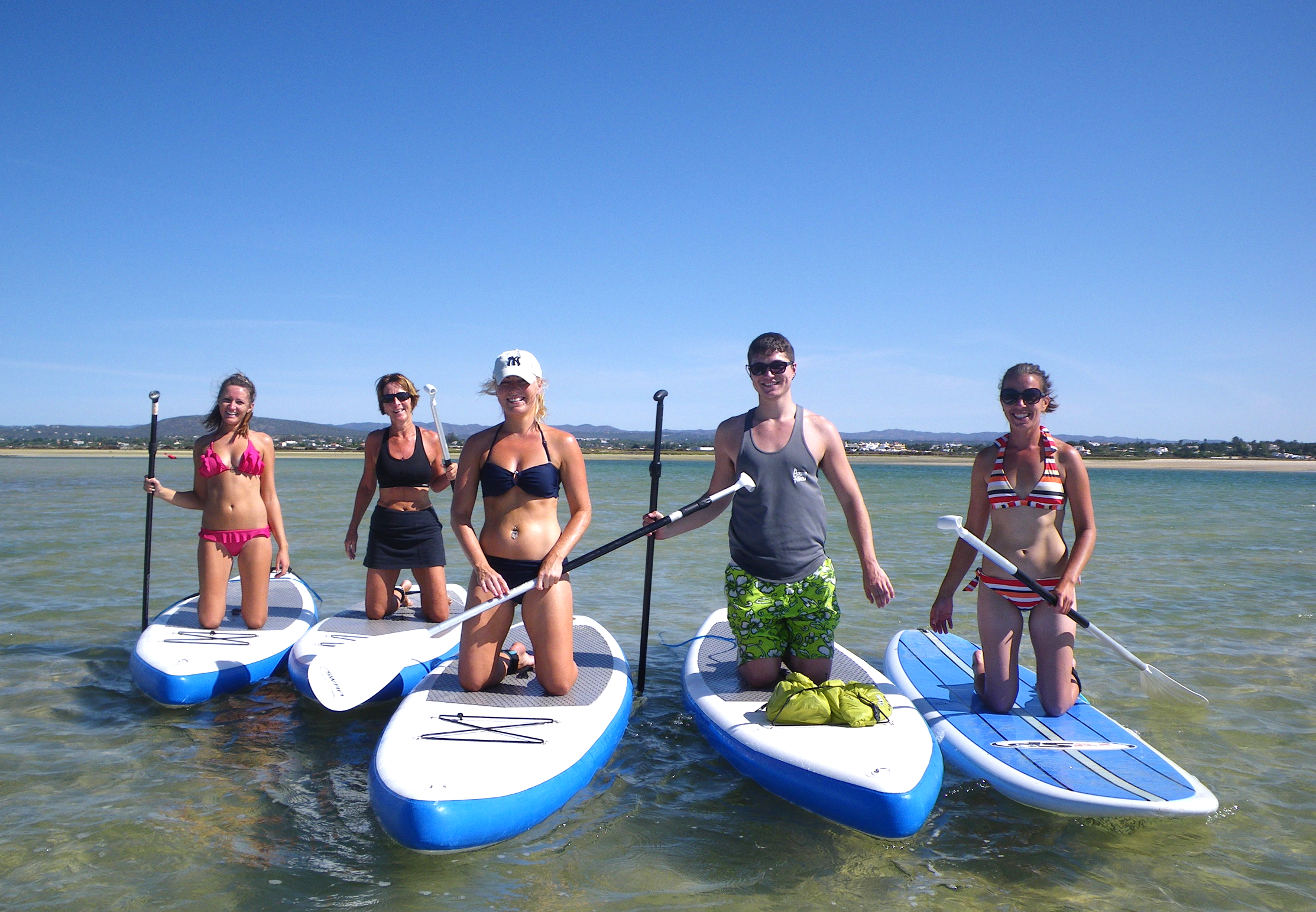 SUP Course in the Ria Formosa Natural Park.