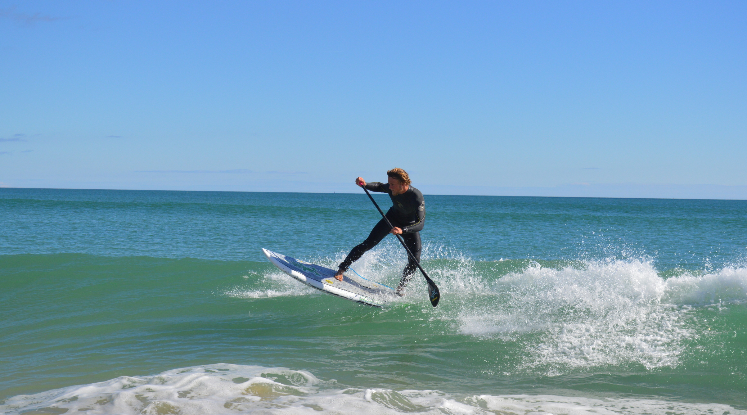 SUP Surfing at Fuseta Beach