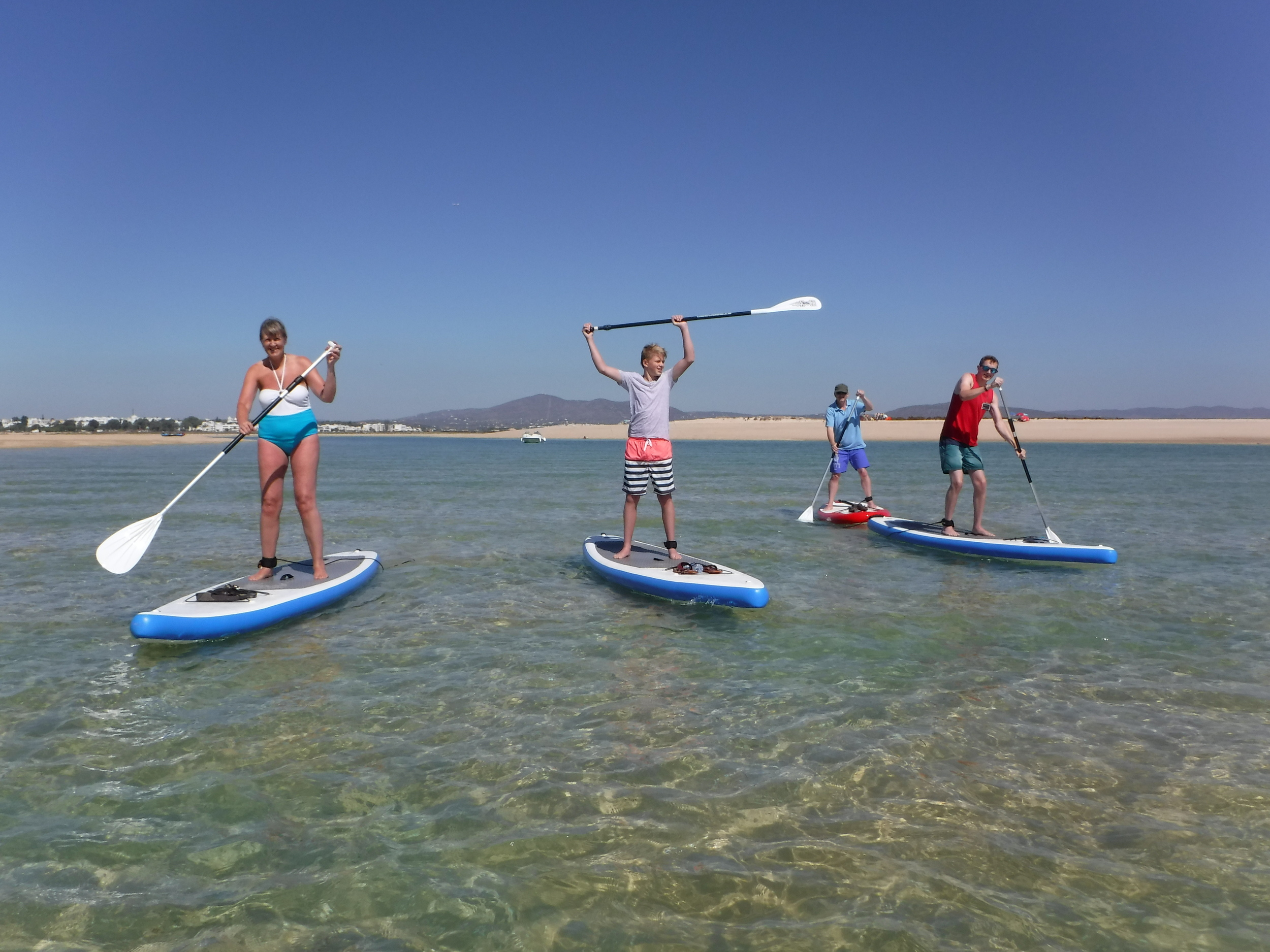 SUP Touring at Fuseta with Your Algarve Adventure.