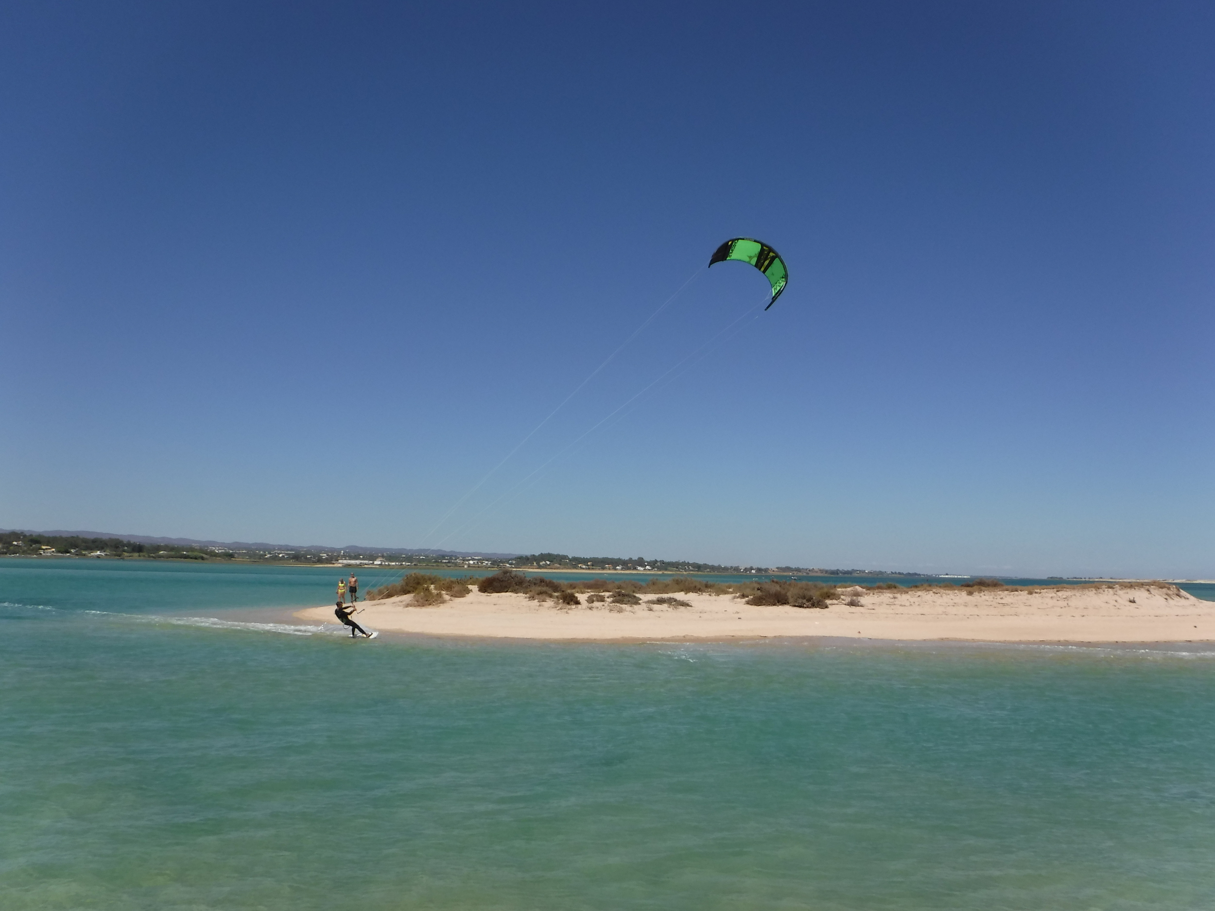 Learn how to Kiteboard with Your Algarve Adventure.