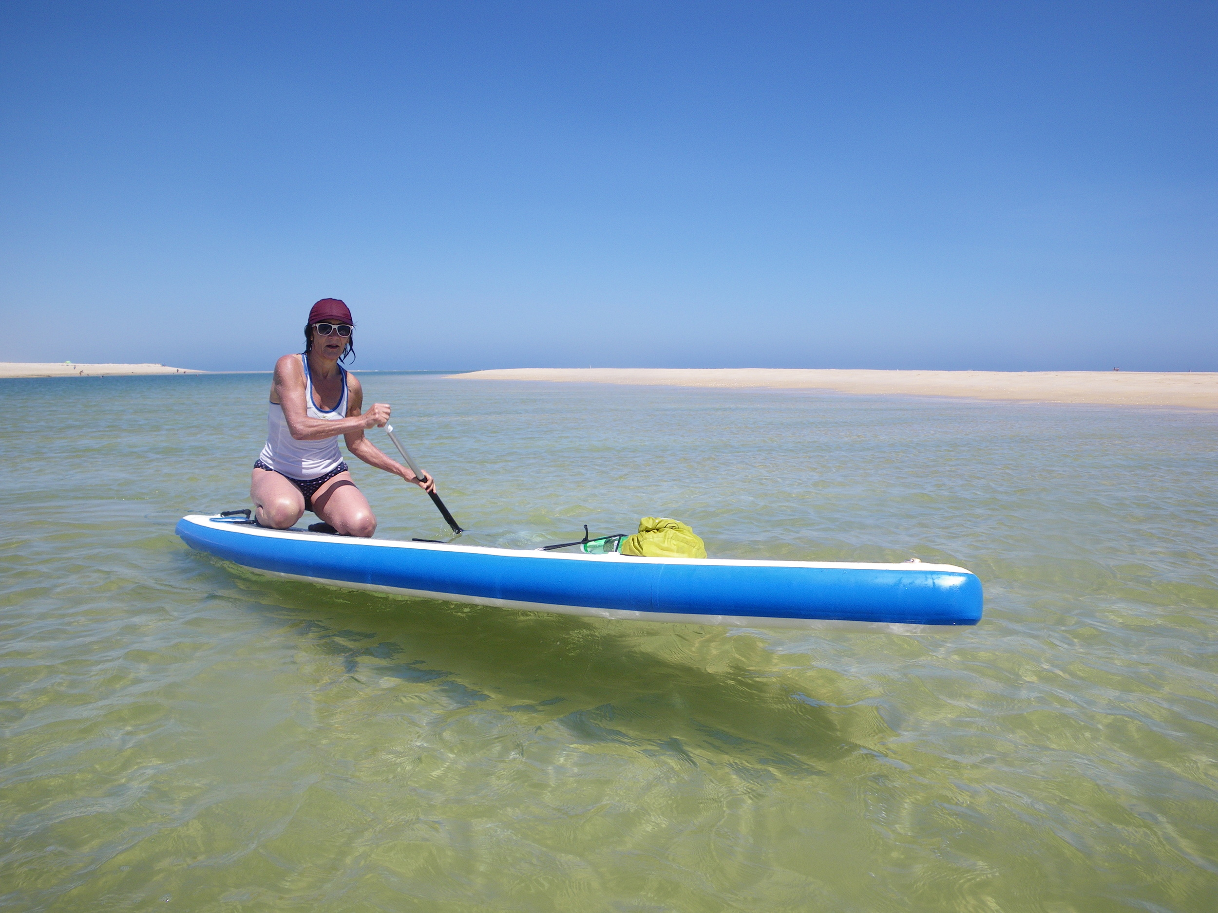 Paddleboarding at Fuseta with Your Algarve Adventure.