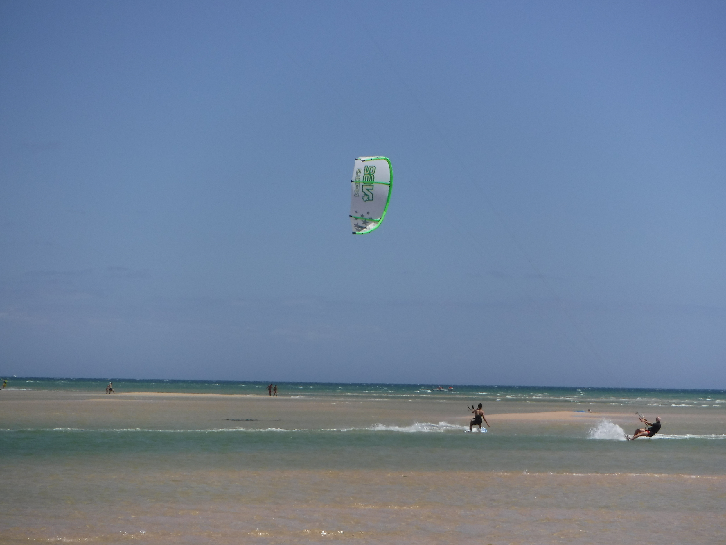 Kiteboarding at Fuseta with Your Algarve Adventure.