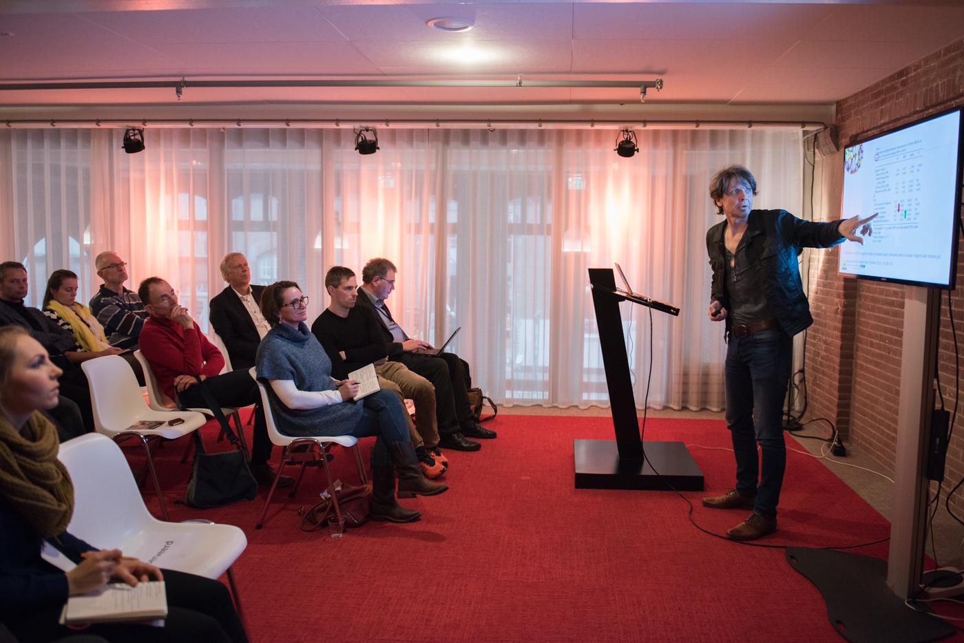 Jurriaan op Het Aardappelcongres in februari 2015.