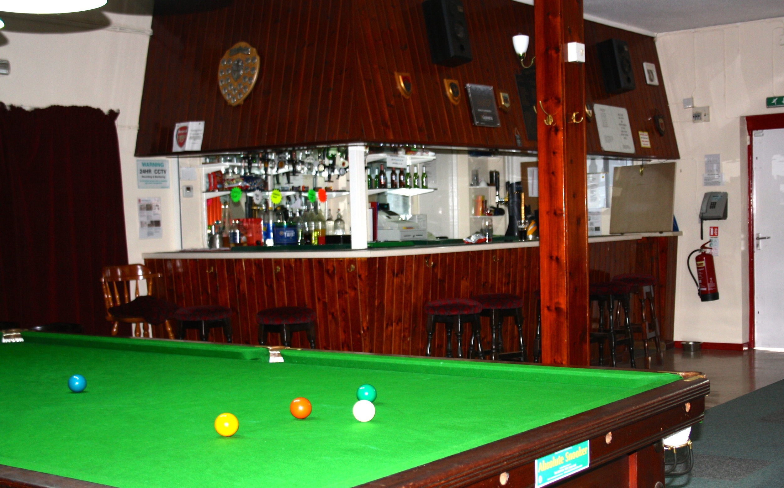 Woodlands Social Club Bar