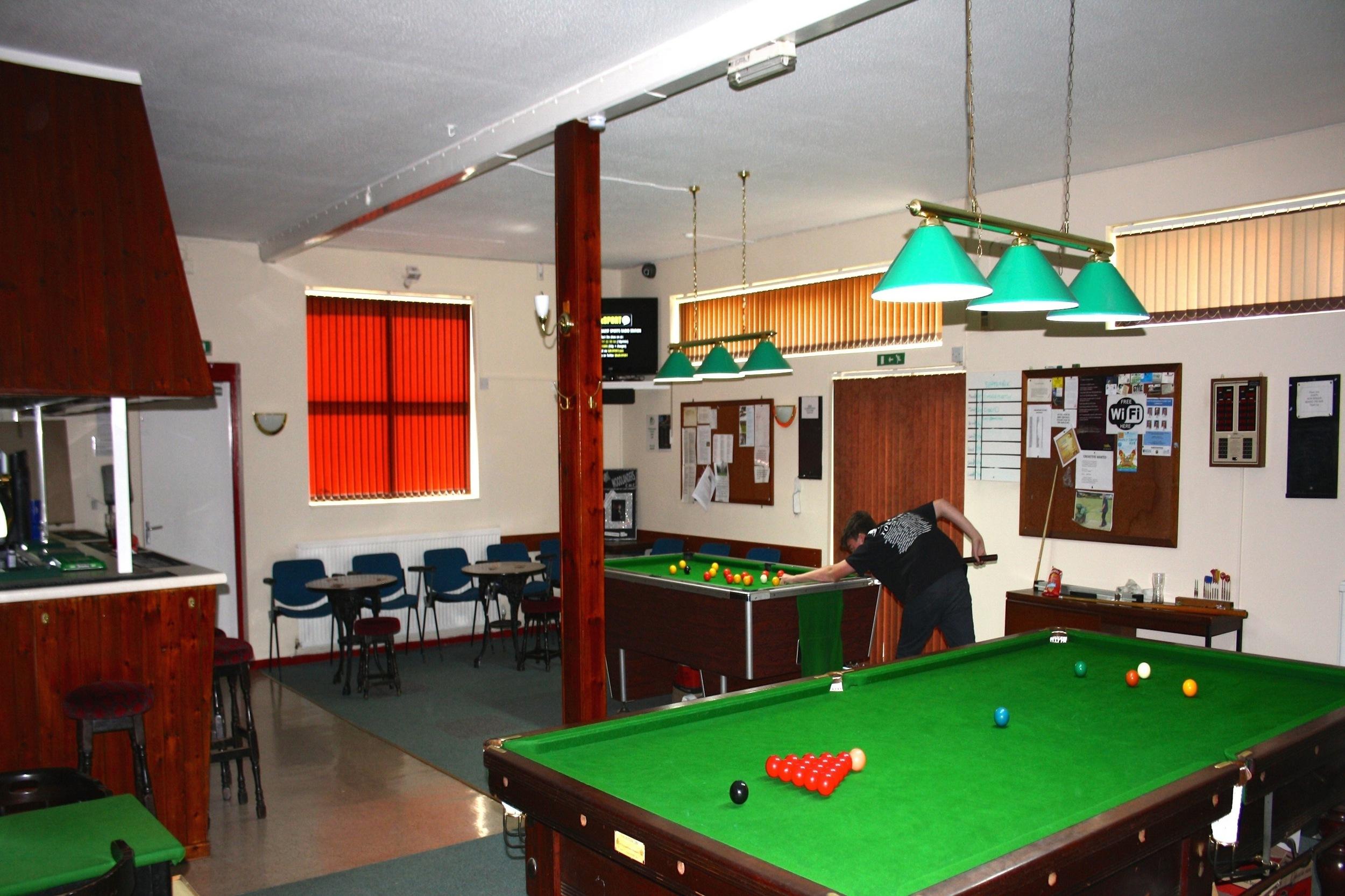 Woodlands Social Club - Snooker