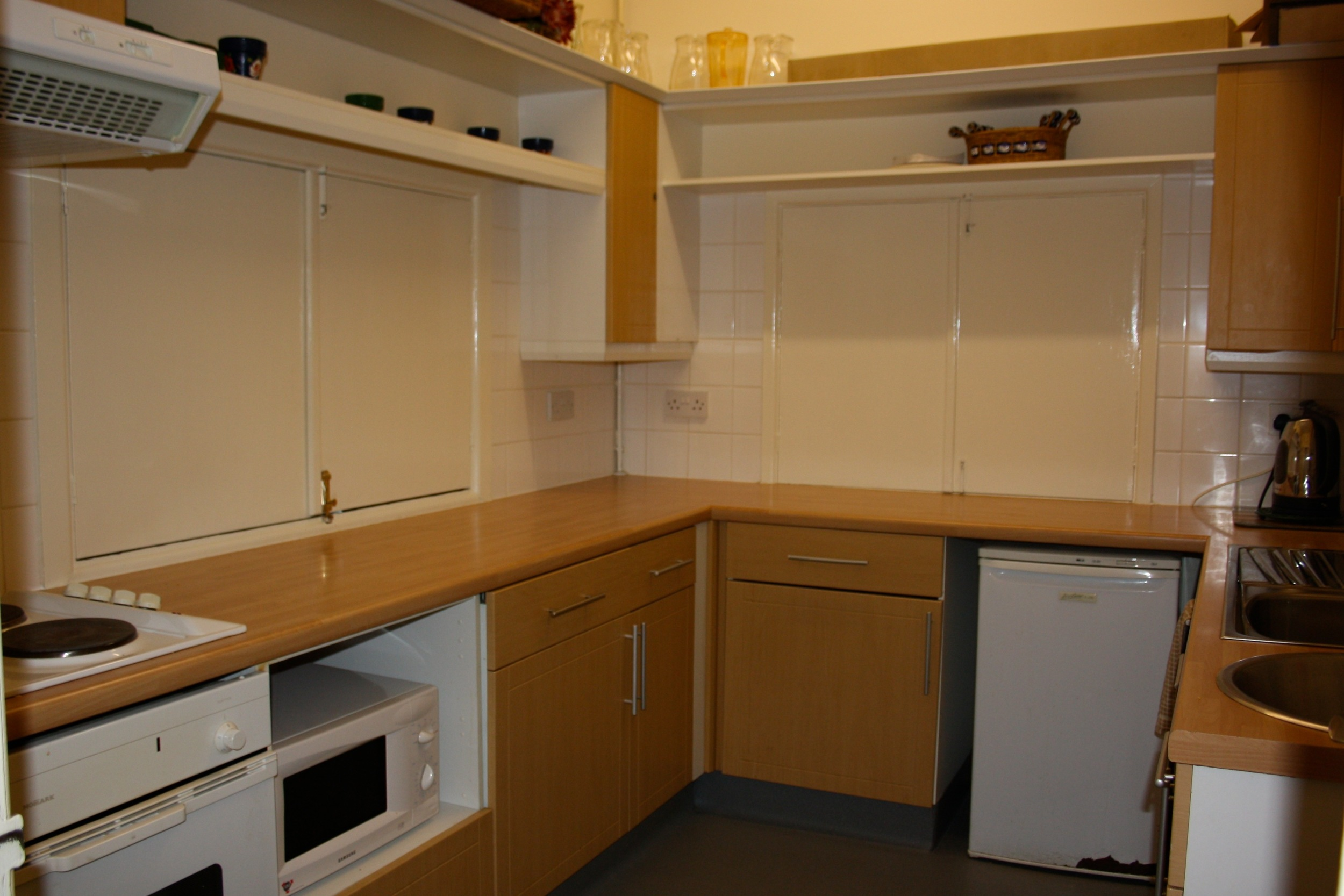 Kitchen at Woodlands St Mary Village Hall