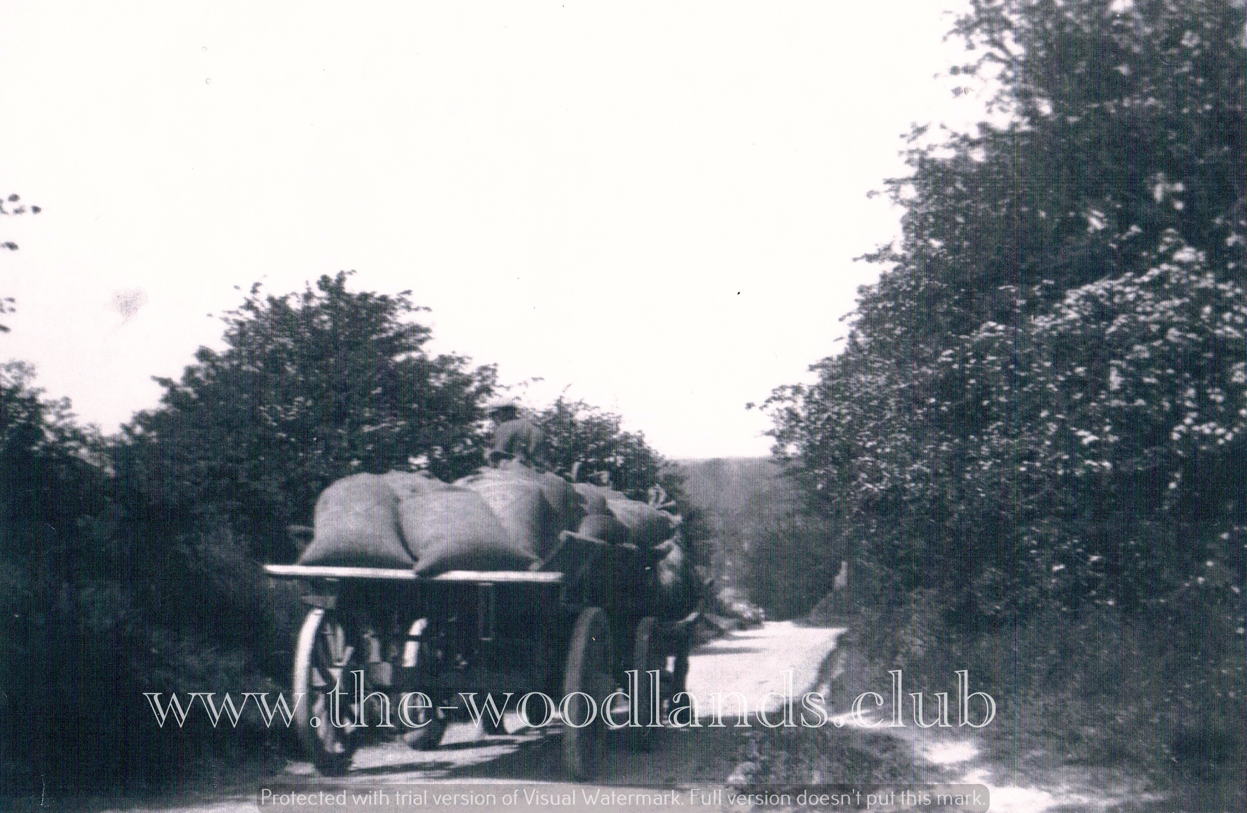 Corn Cart at Lambourn Woodlands 1934