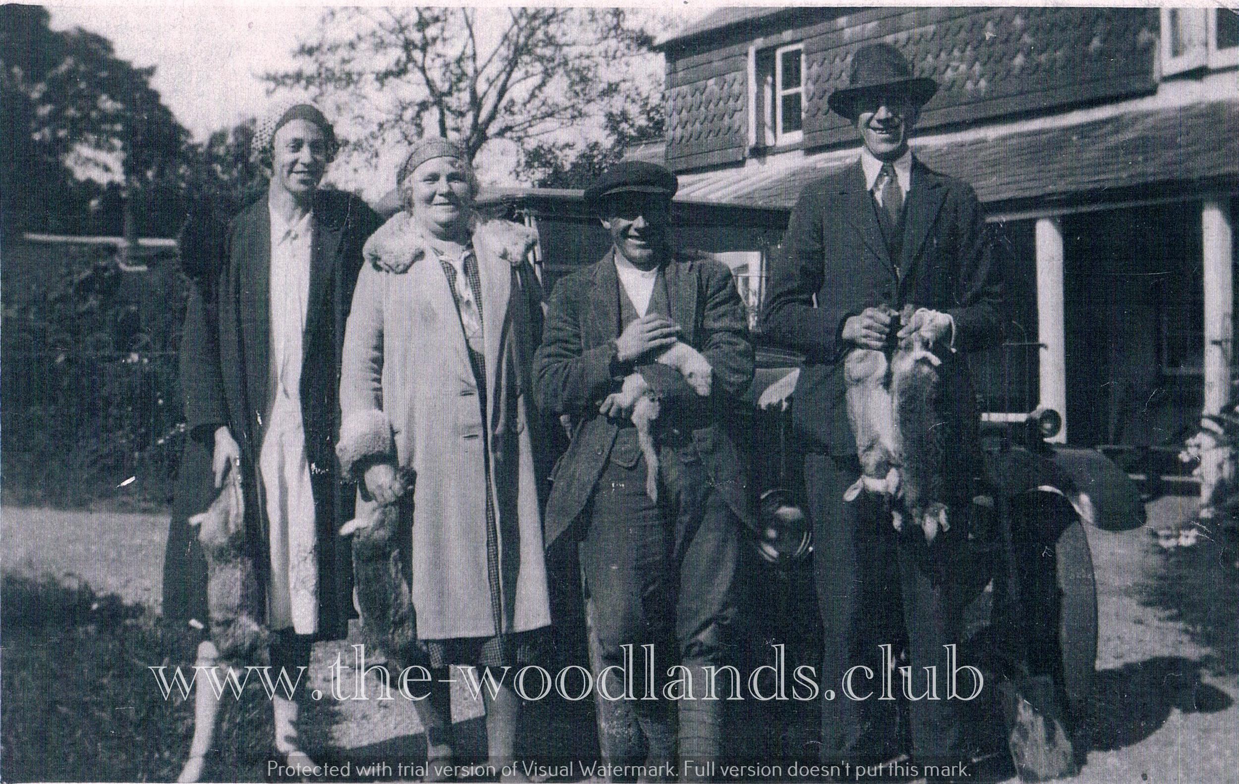 Chalkers Pub Lambourn Woodlands