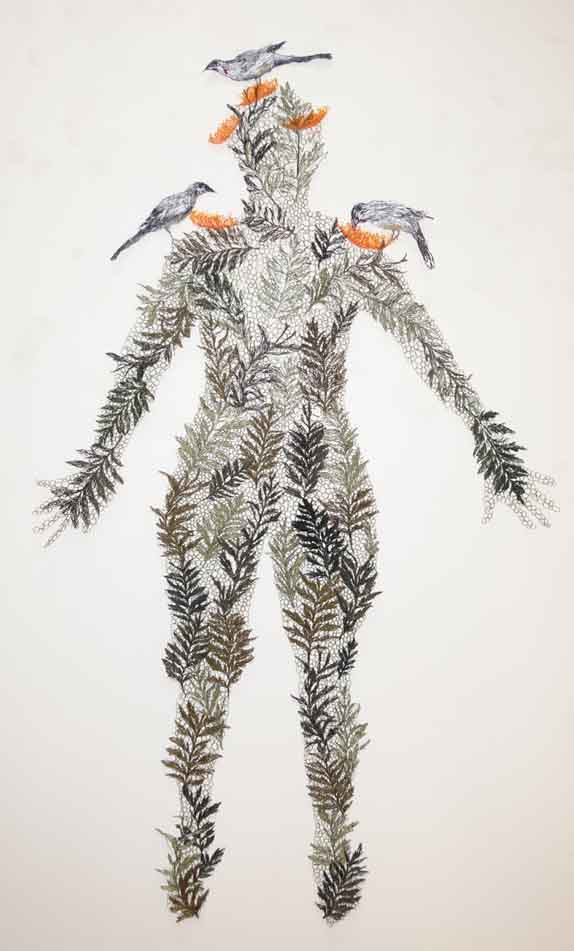 laced with grevillea robusta full figure.jpg