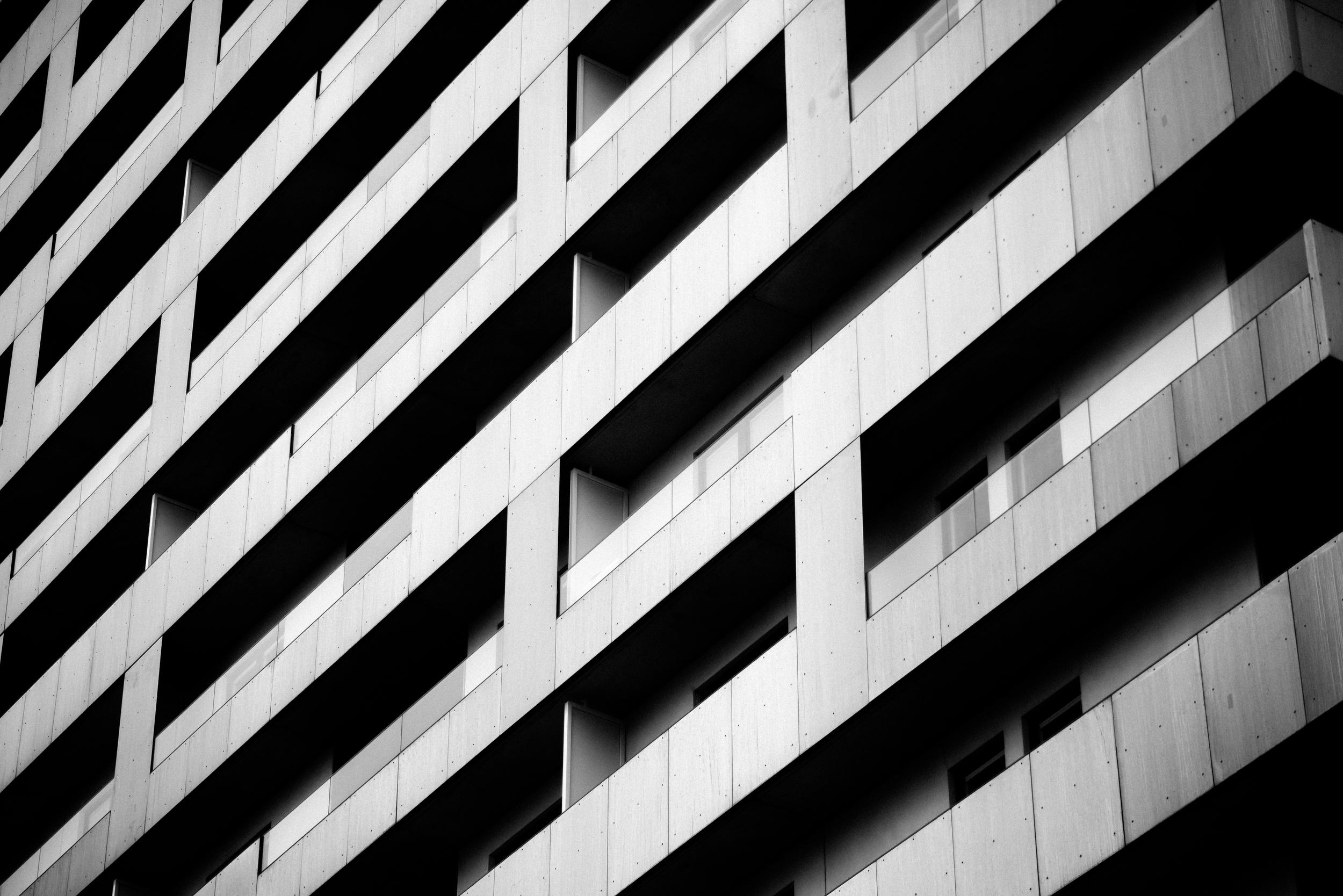 Apartment stripes, Kristineberg, Stockholm