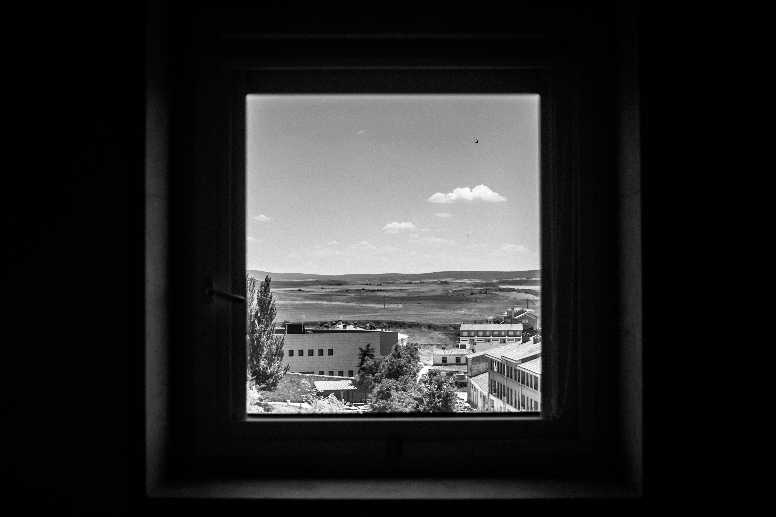 Hotel view, Lerma, Spain