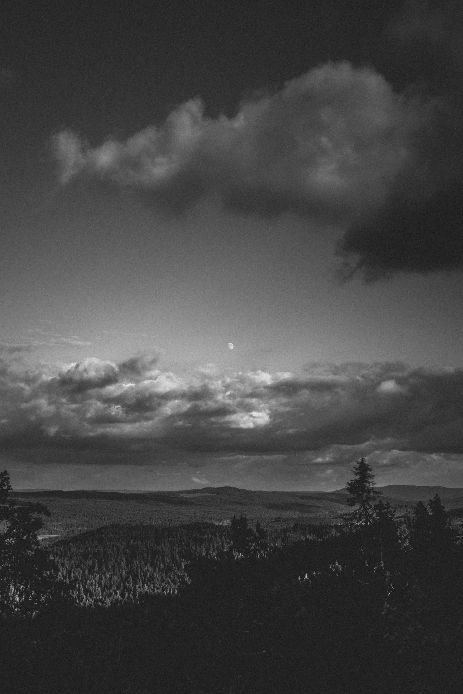 View from Antilla-mountain, Värmland, Sweden