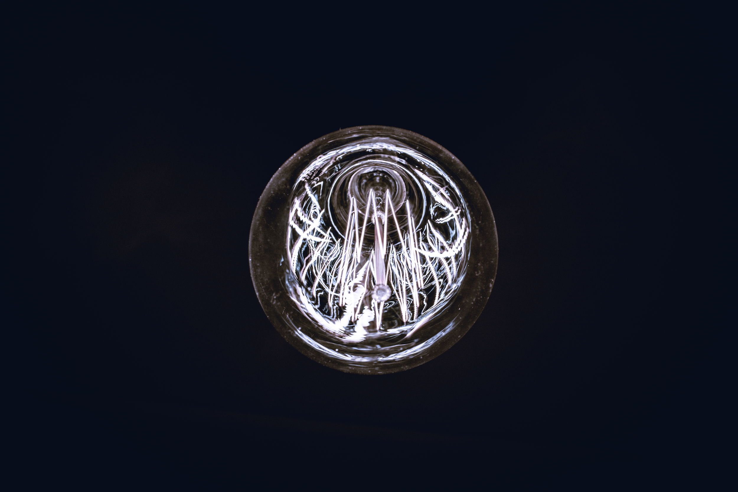 Clas Ohlson lamp, Stockholm, Sweden