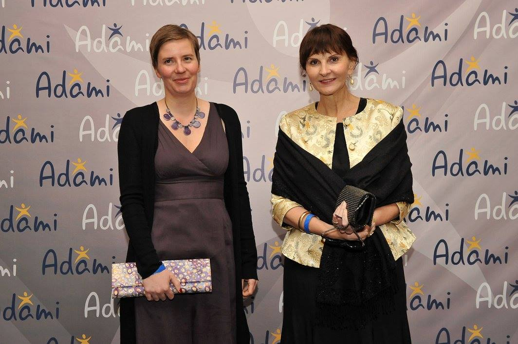 Mrs.  Bettina Cadenbach (Ambassador of Germany in Georgia) and Ms. Monika Lenhard