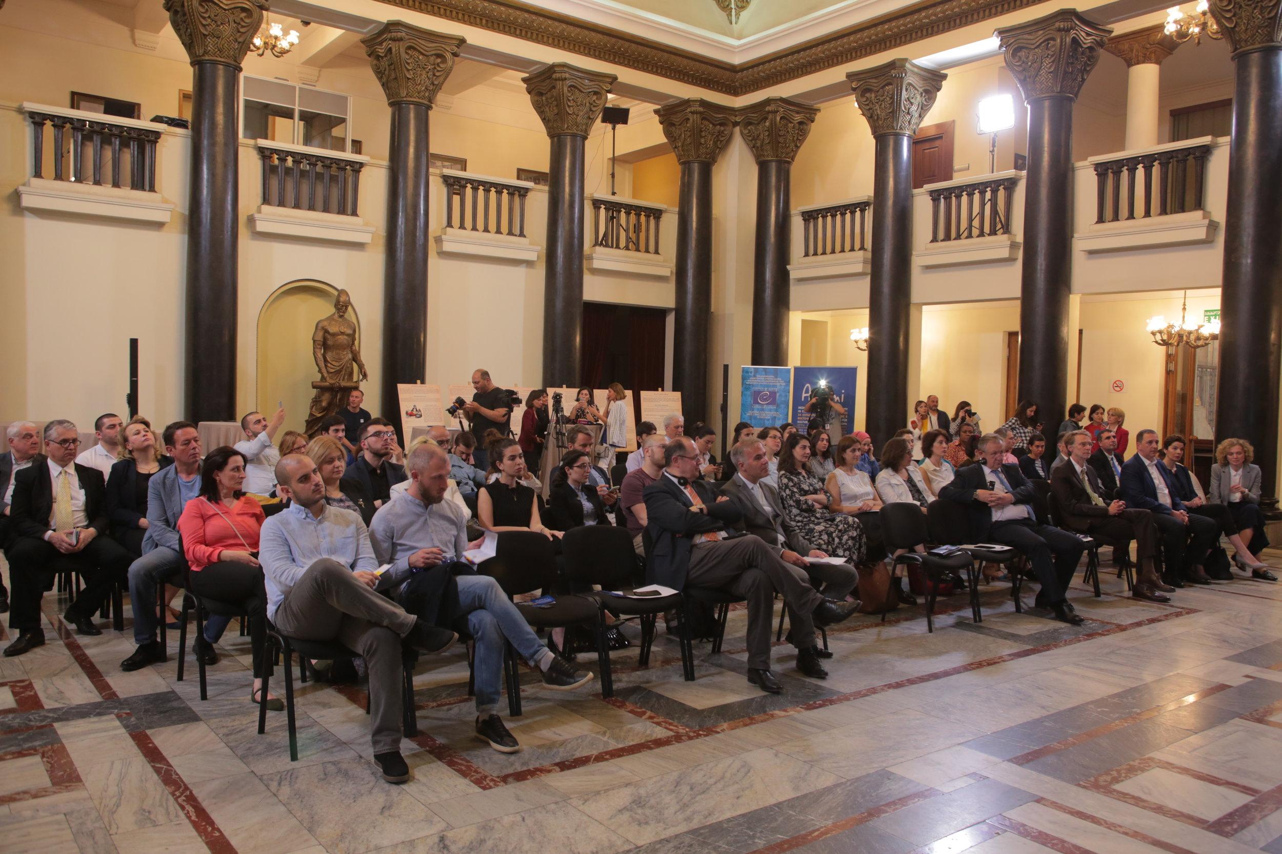 10. ADAMI TANDEM Announcement in the Parliament of Georgia .JPG