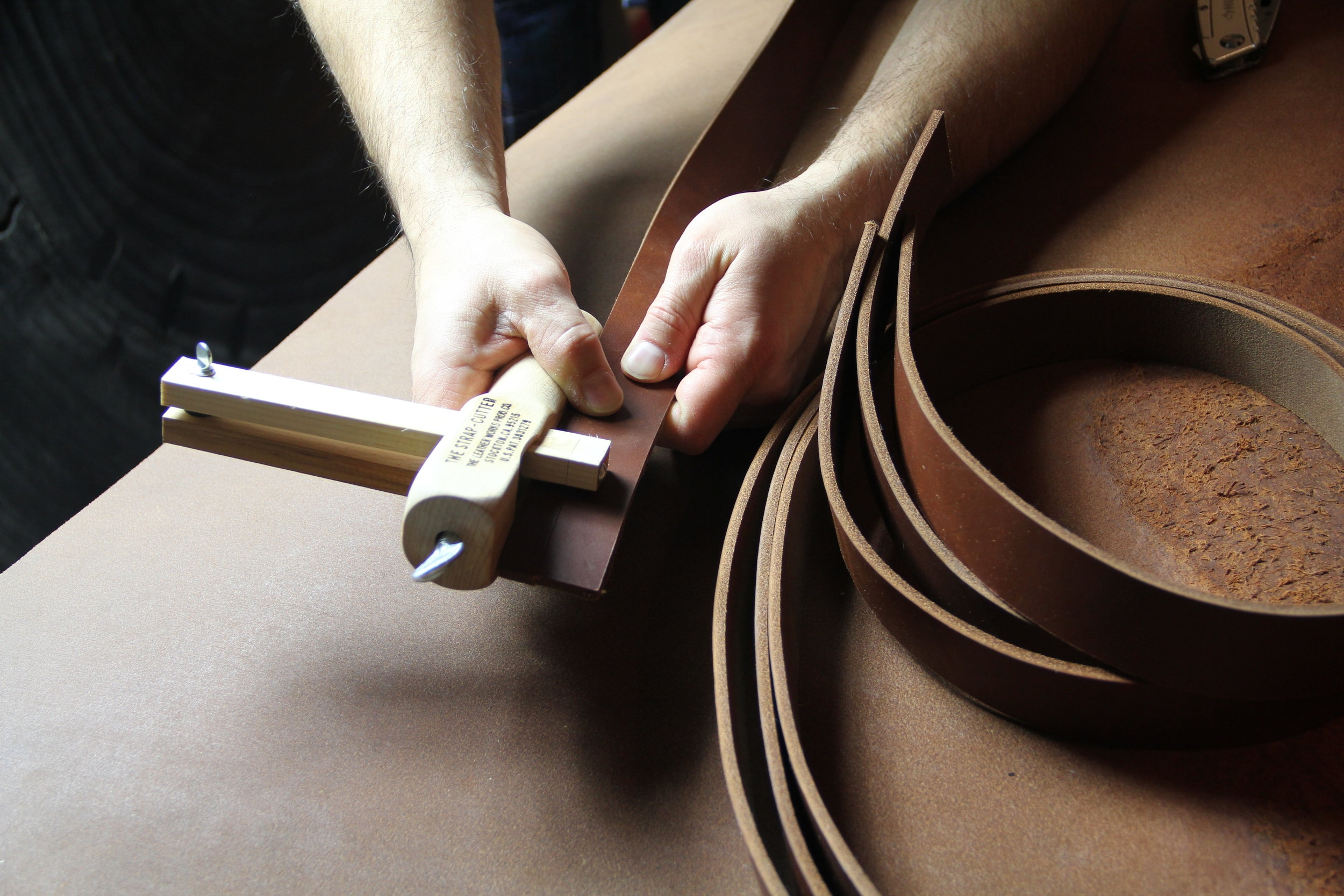 Hand Crafted Worker Belts