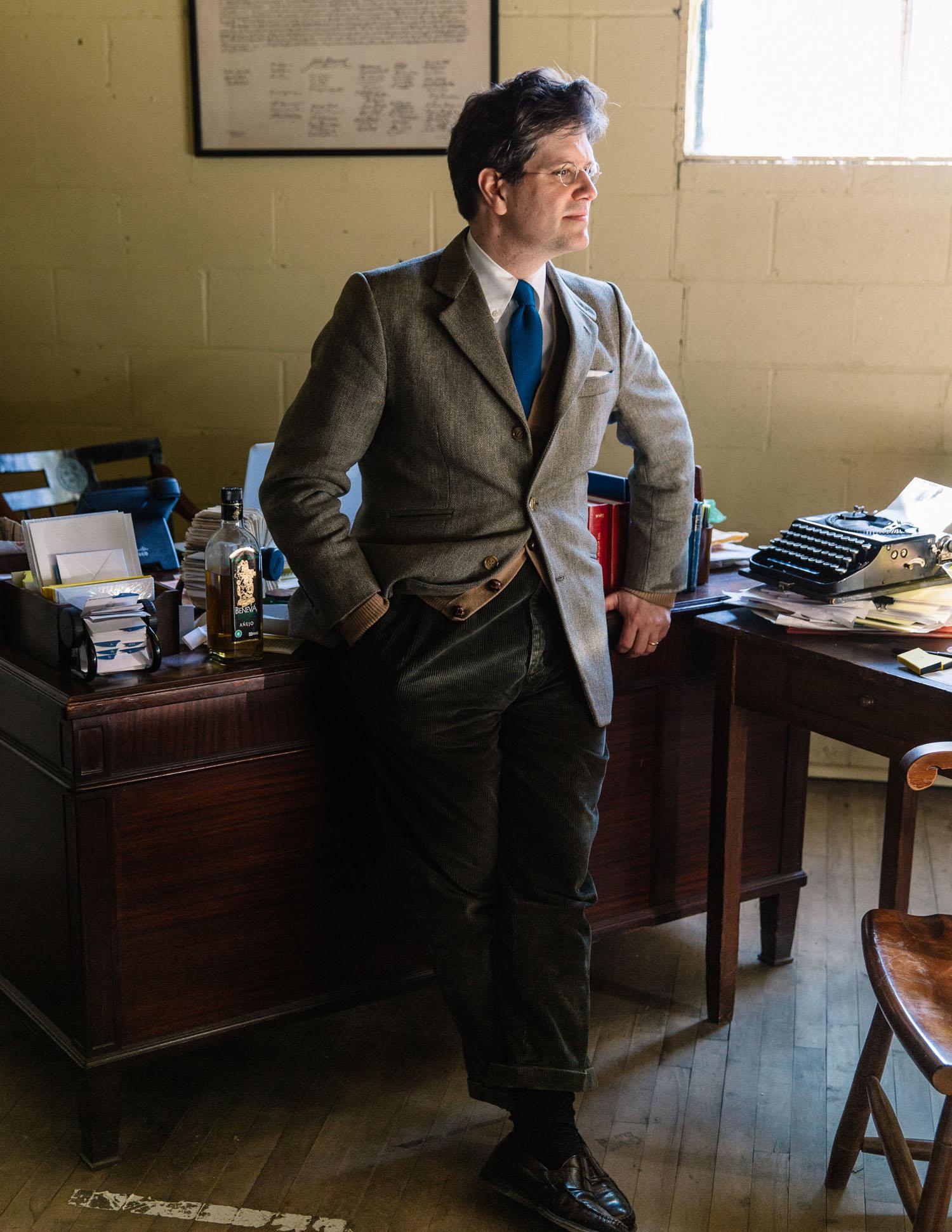 Luke Ives Pontifell in his office.