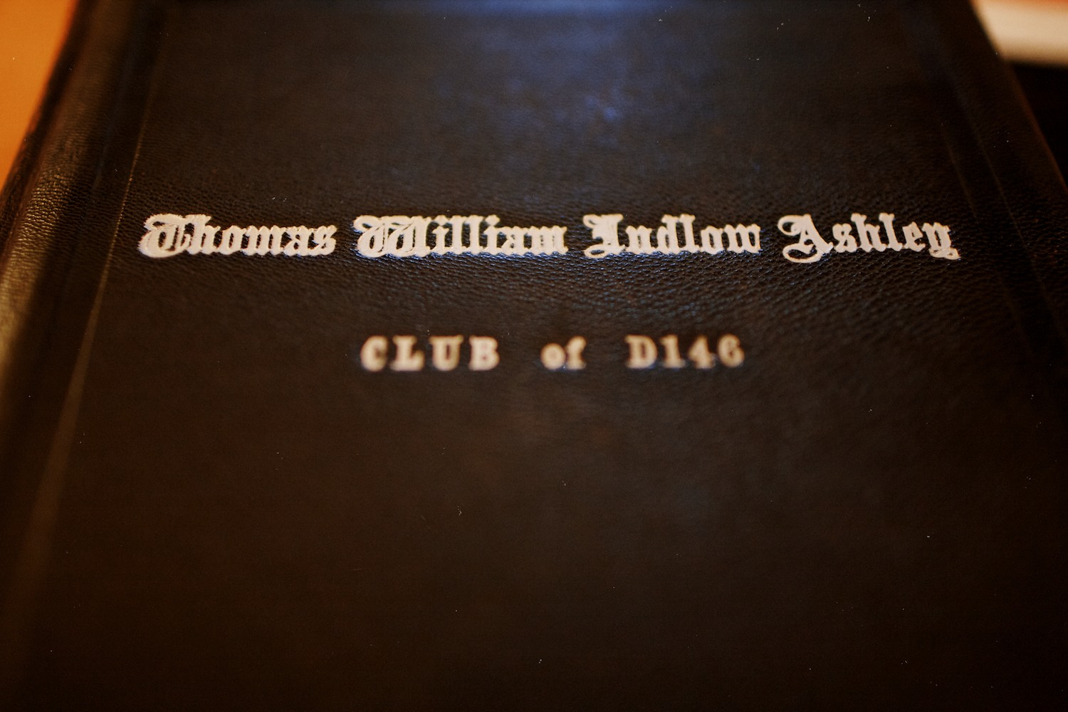 Thomas W. L. Ashley's Skull and Bones 1948 yearbook.