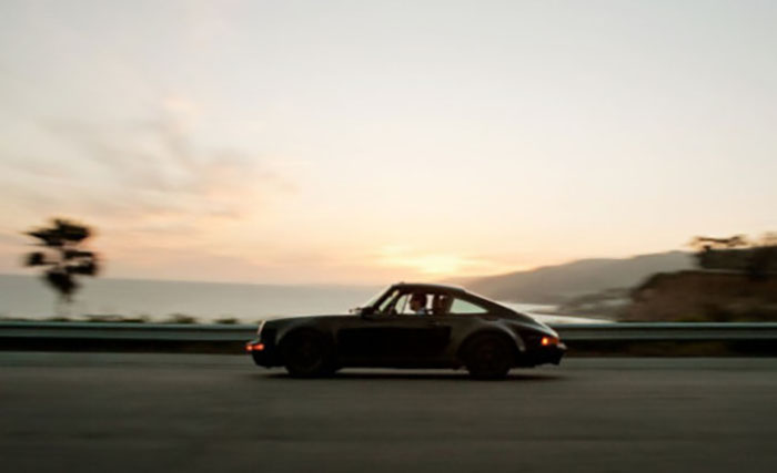Porsche 911, perhaps the sexiest car on earth.