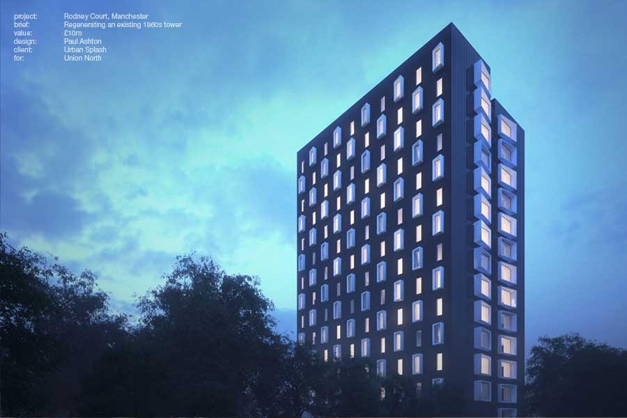 Rodney Tower for Urban Splash