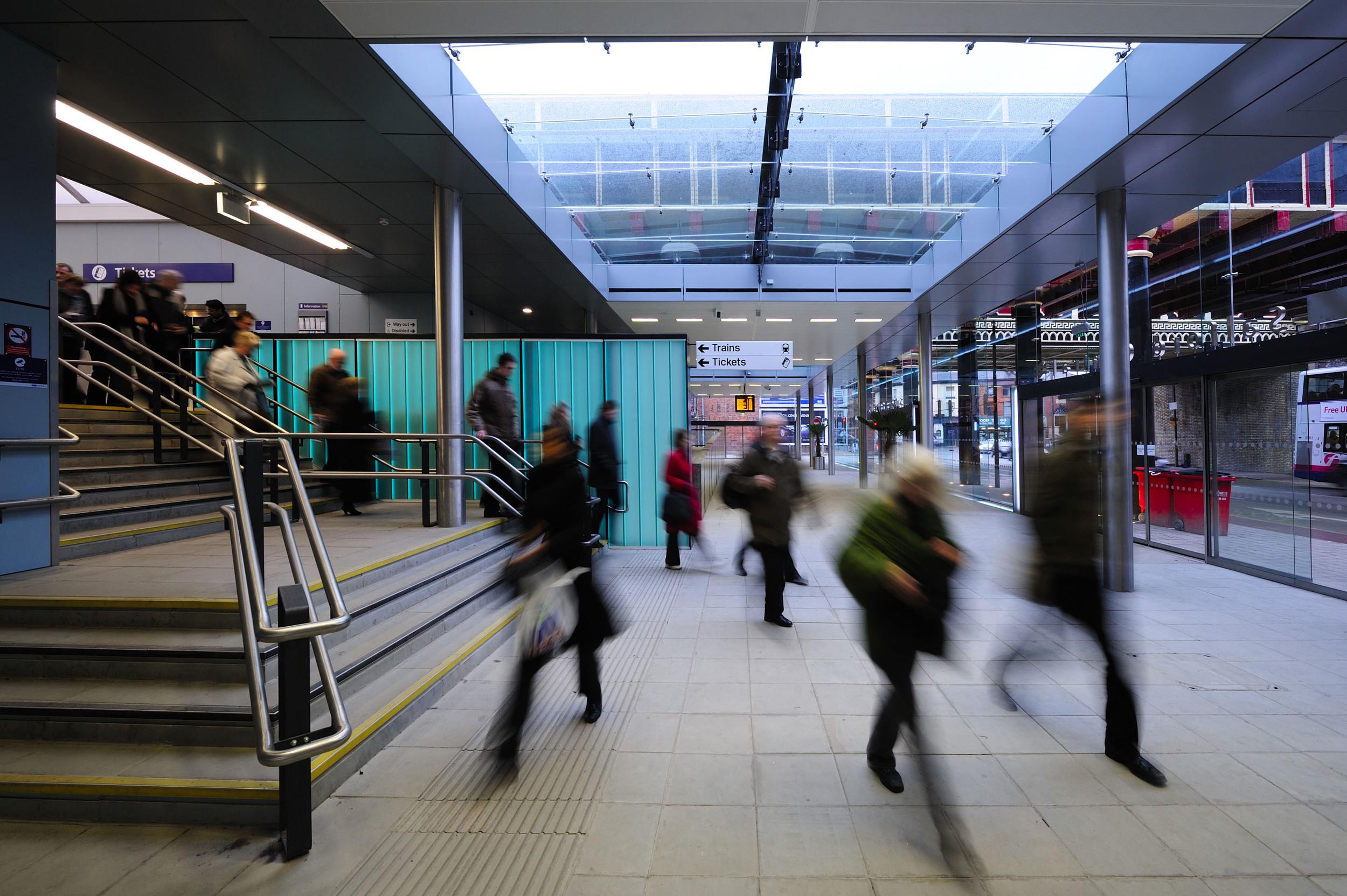 Salford Central Station Interior