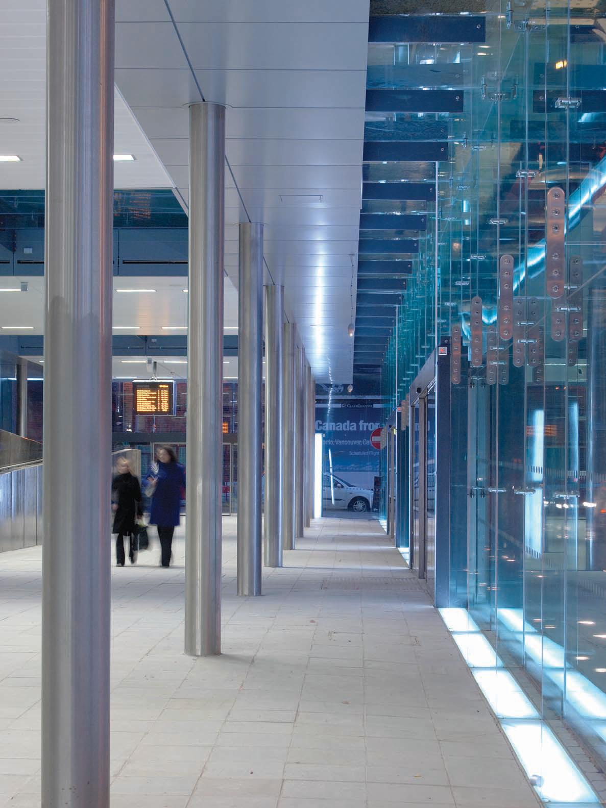 Salford Central Station Planar Glazing