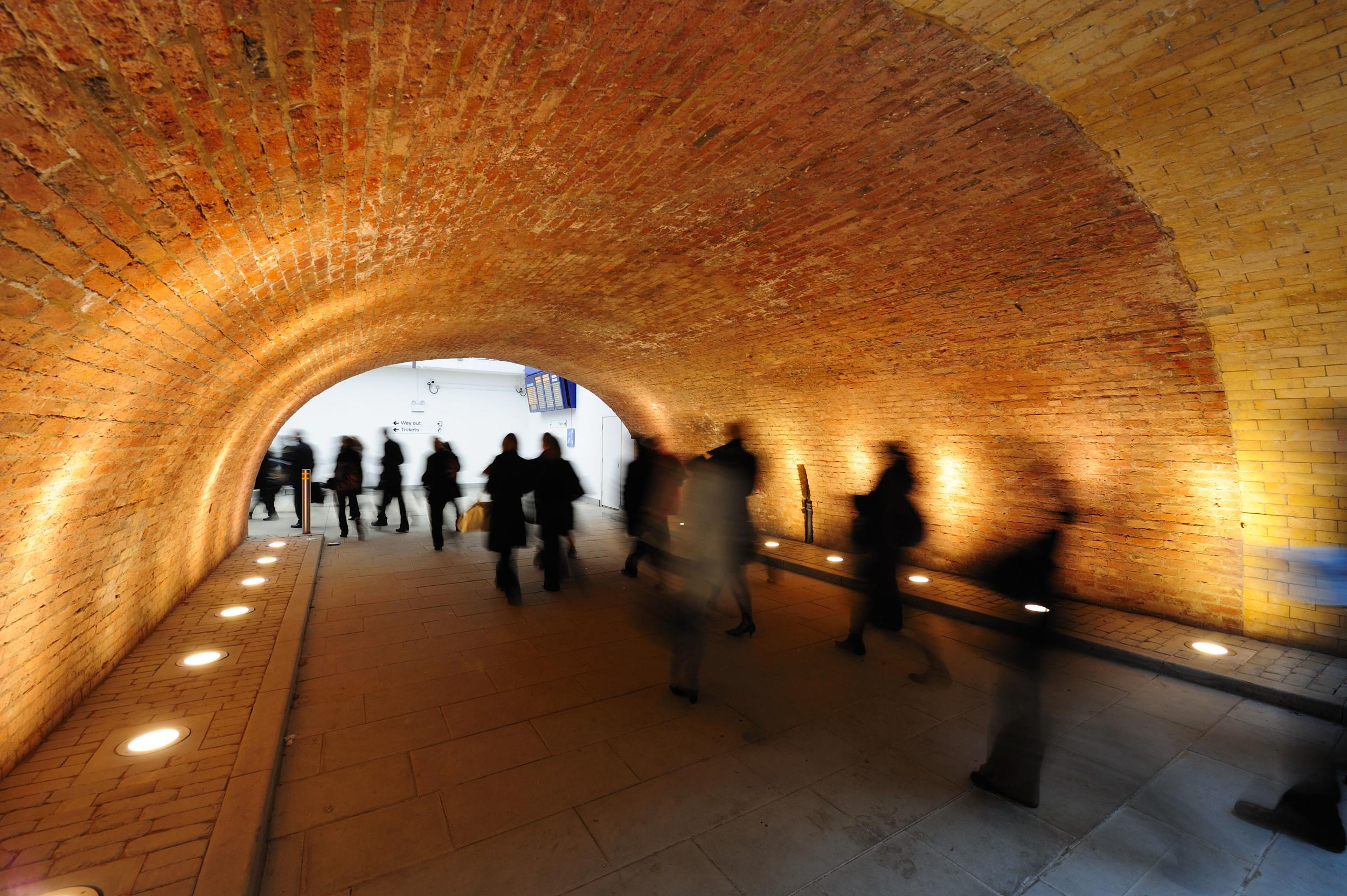 Salford Central Station Bridge Arch