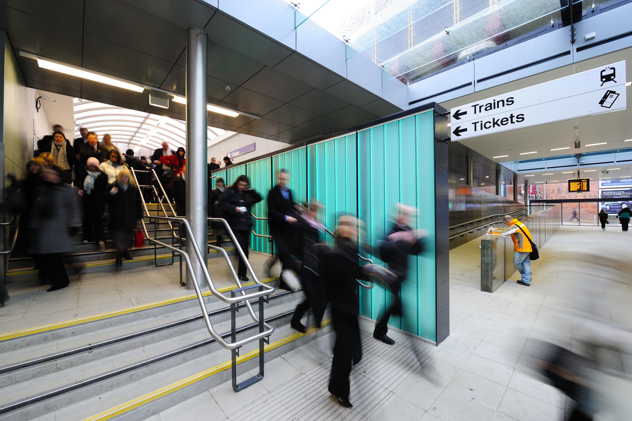 Salford Central Station Interior 2