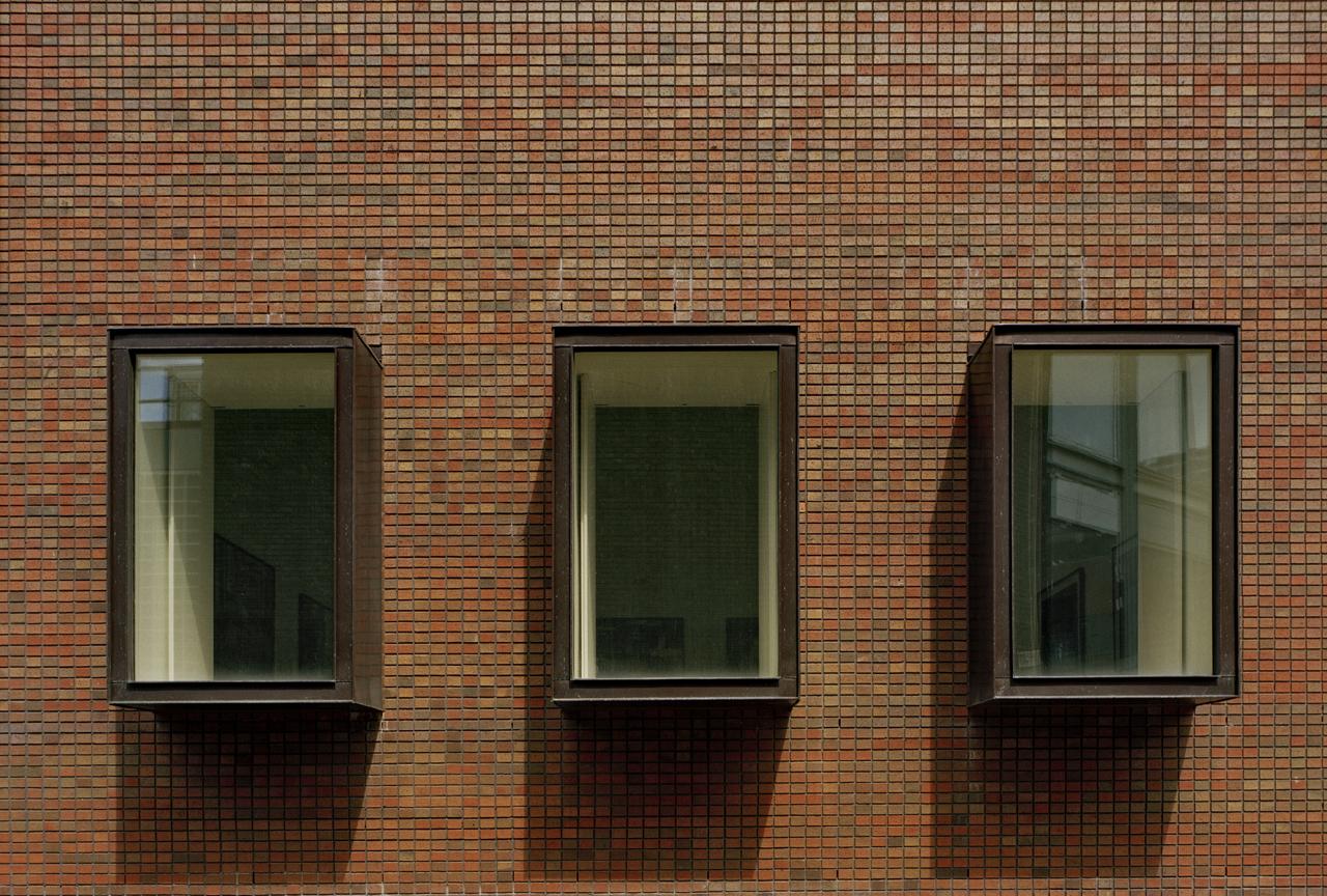 Bluecoat Oriel Windows