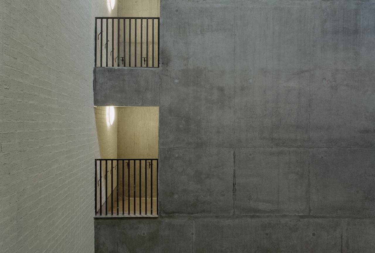 Bluecoat Atrium Raw Concrete