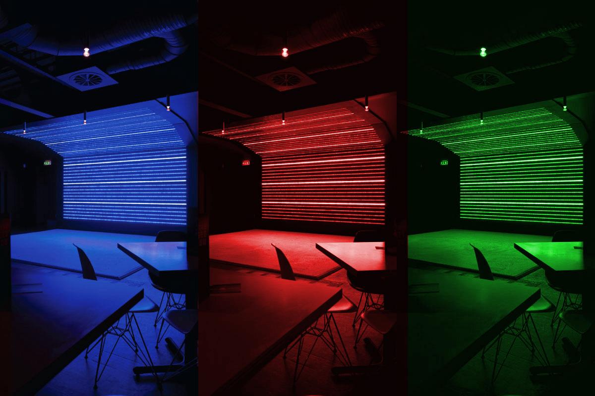 Baa Bar dance Floor LED Wall