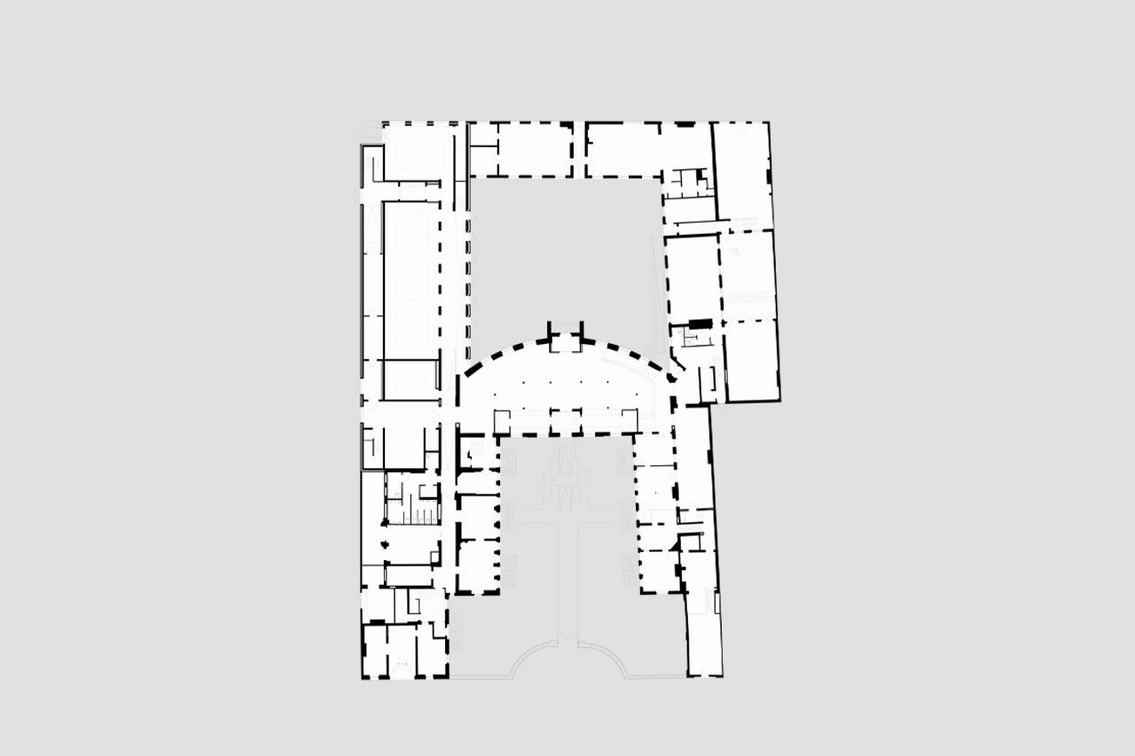 Bluecoat Ground Floor Plan