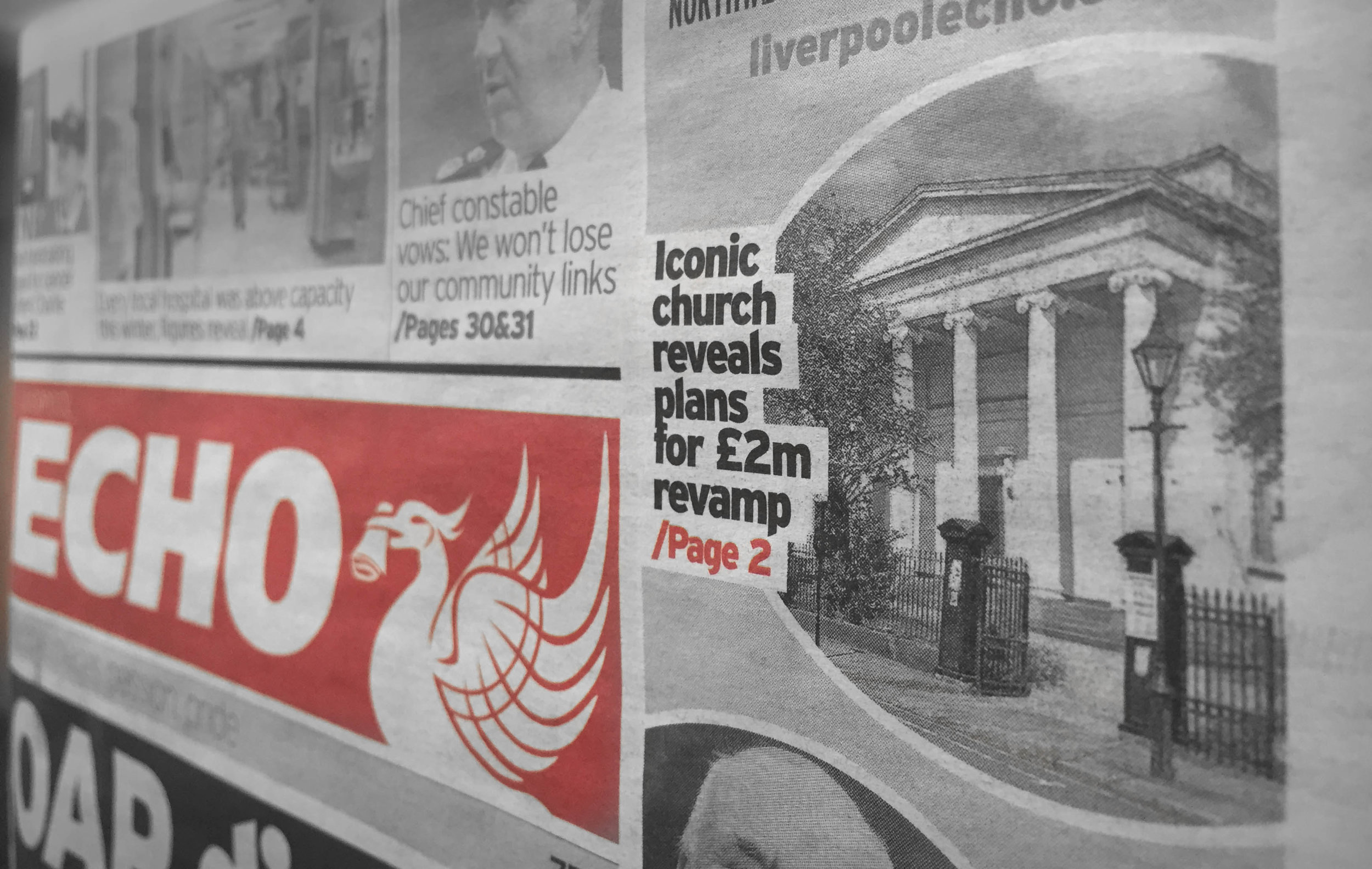St Brides Liverpool Echo