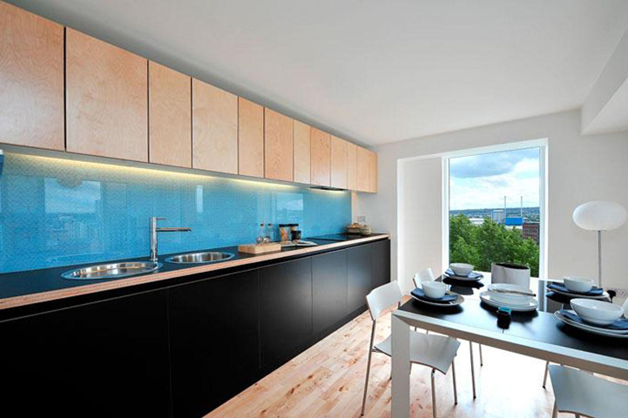 Saxton Interior Kitchen