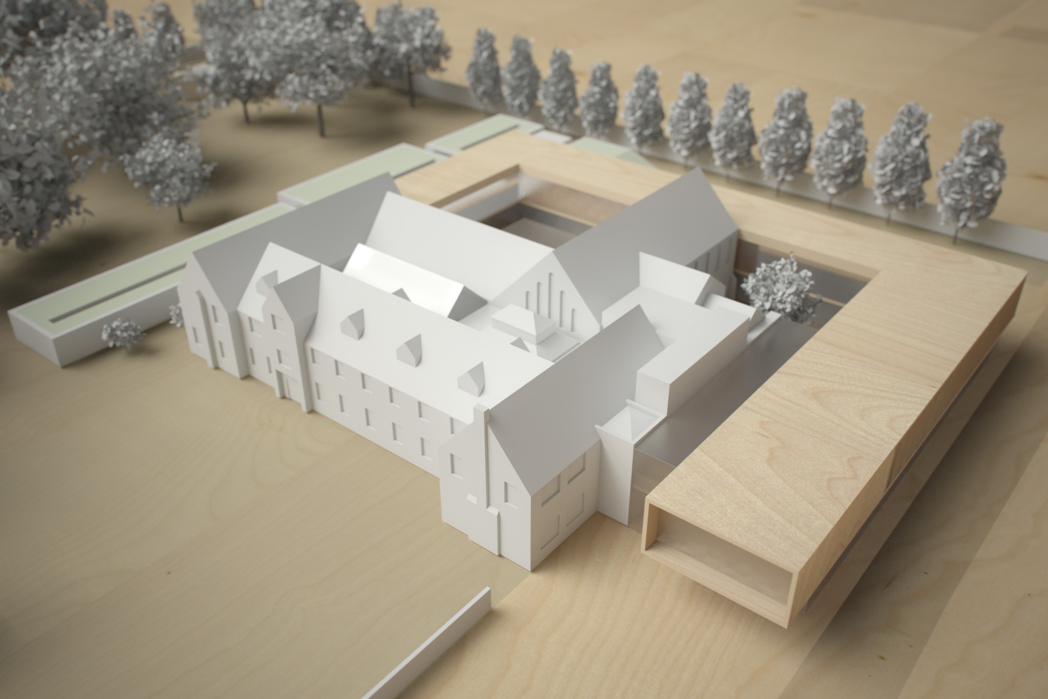 Monastery Building Conversion and Extension Liverpool Physical Model 5