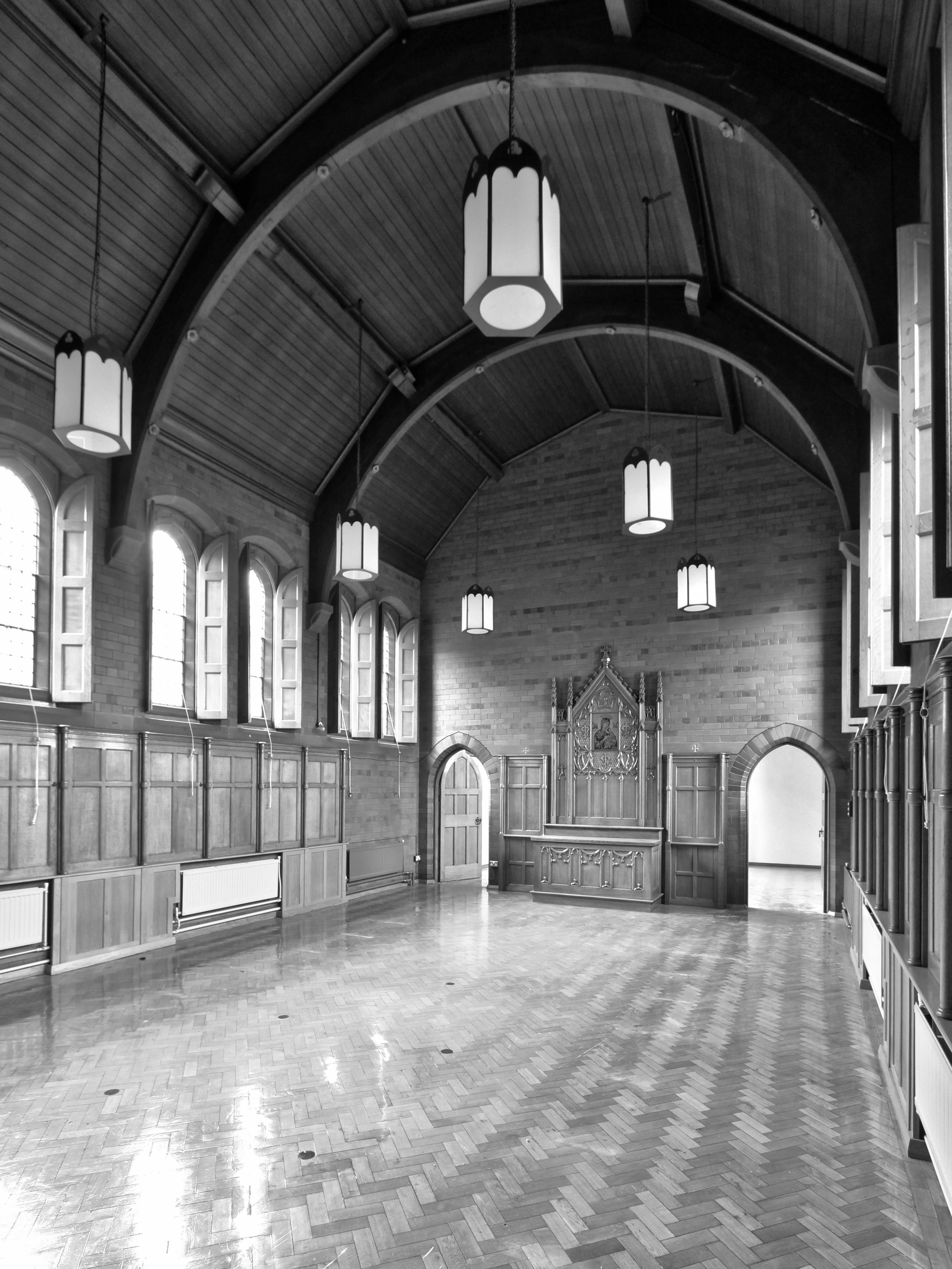 Existing Monastery Interior 2