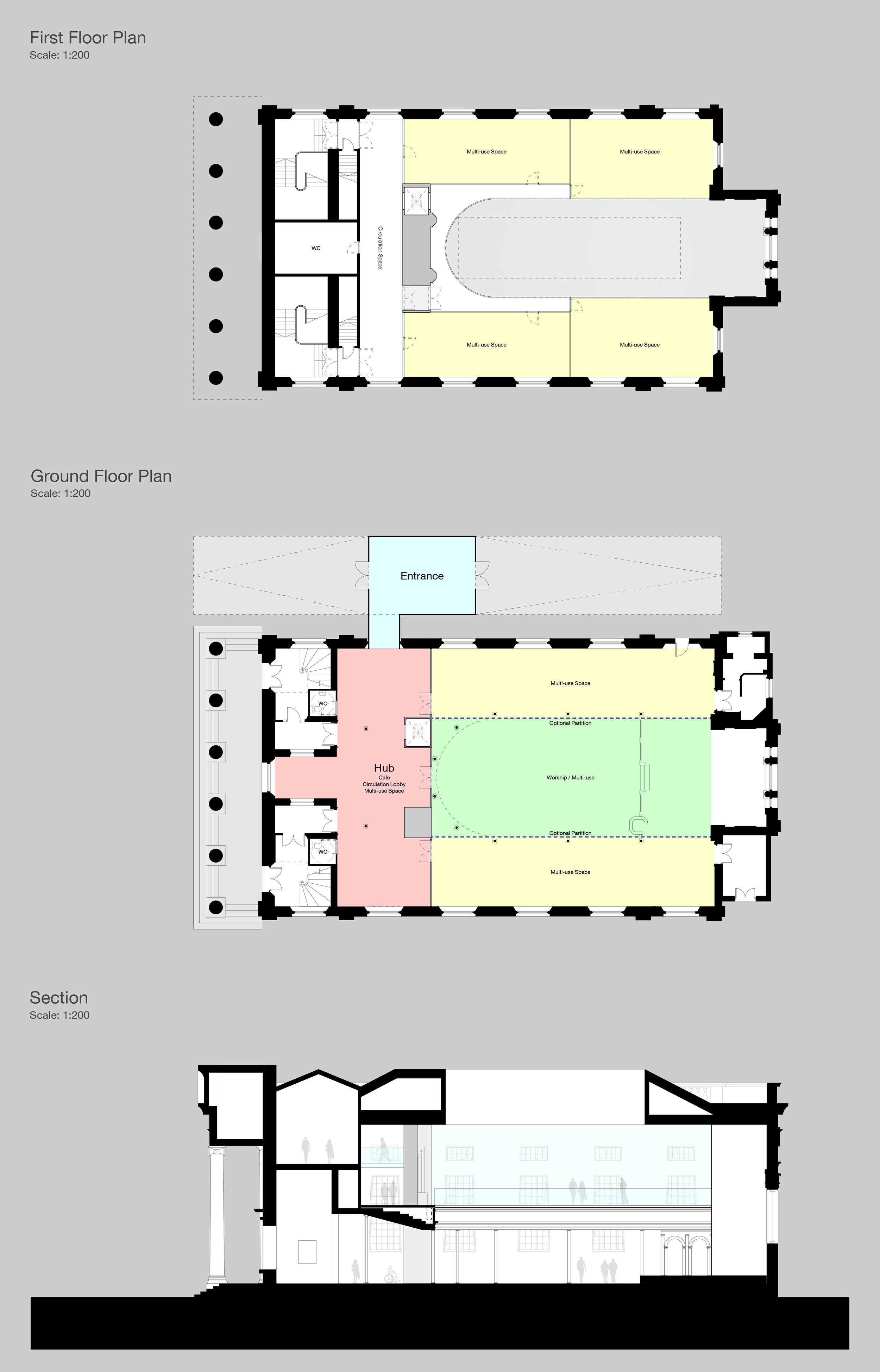 St Brides Liverpool Georgian Quarter Plans