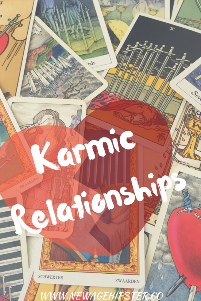 Karmic Relationships - how to spot them and how to clear them!