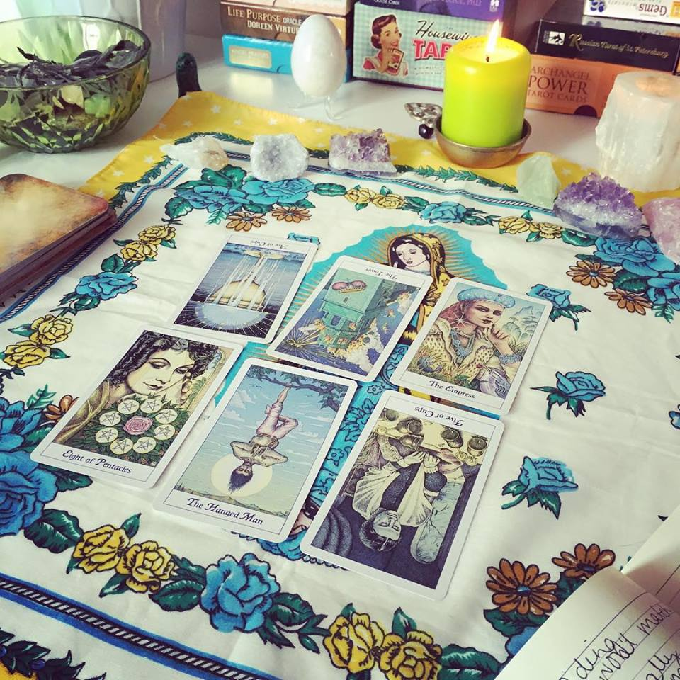 Fate, Fortune and Free Will with the Cosmic Tarot - New Age Hipster