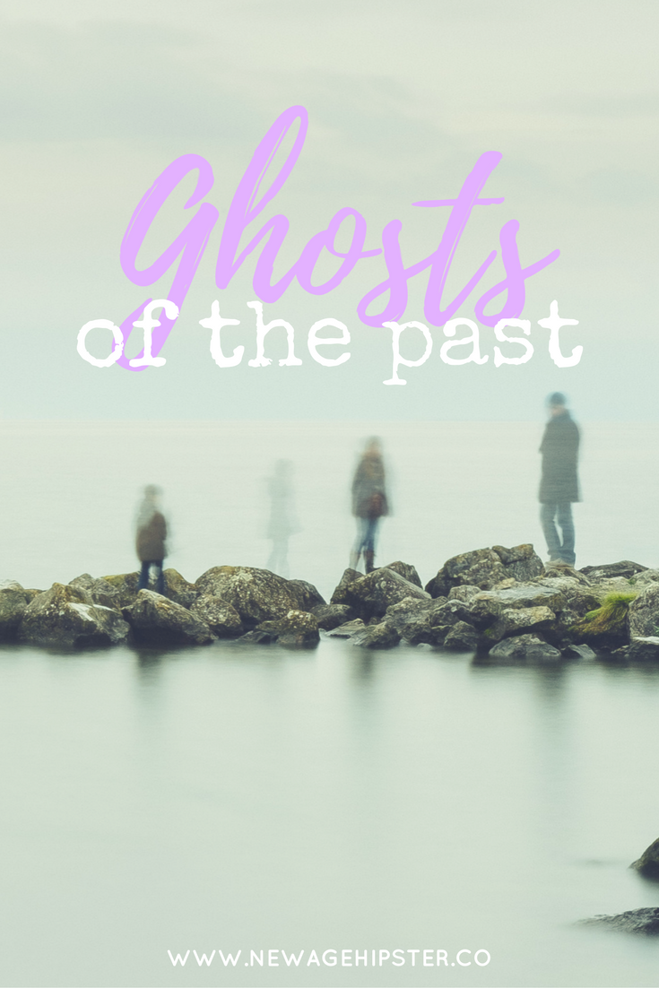 Ghost of the past blog post by Vix New Age Hipster x