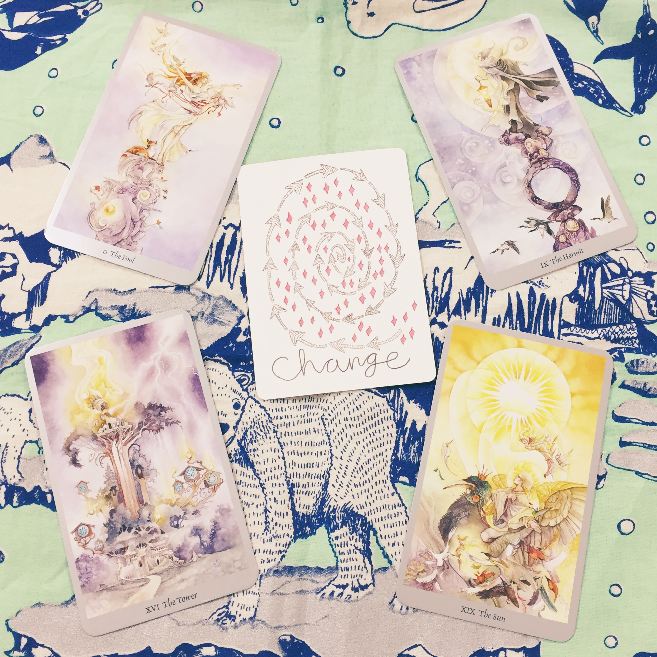 Shadowscapes Tarot + Vessel Oracle x