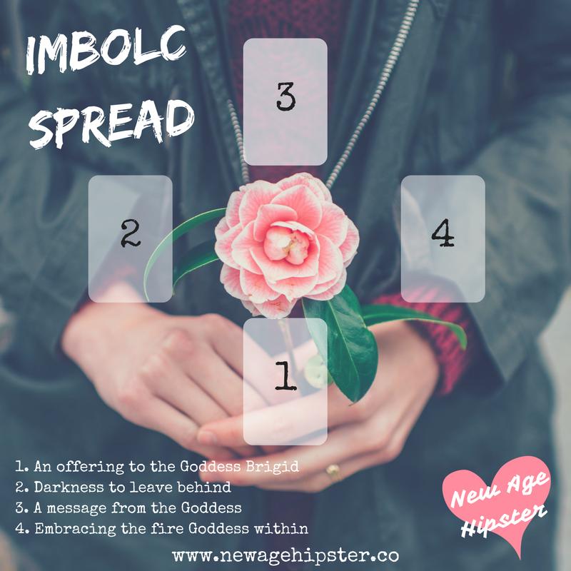 Imbolc tarot spread