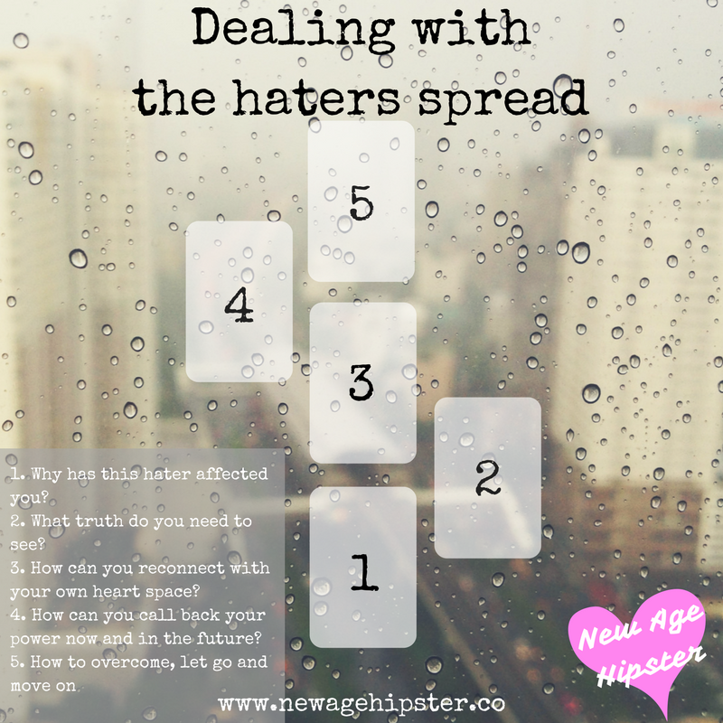 Dealing with the haters tarot spread