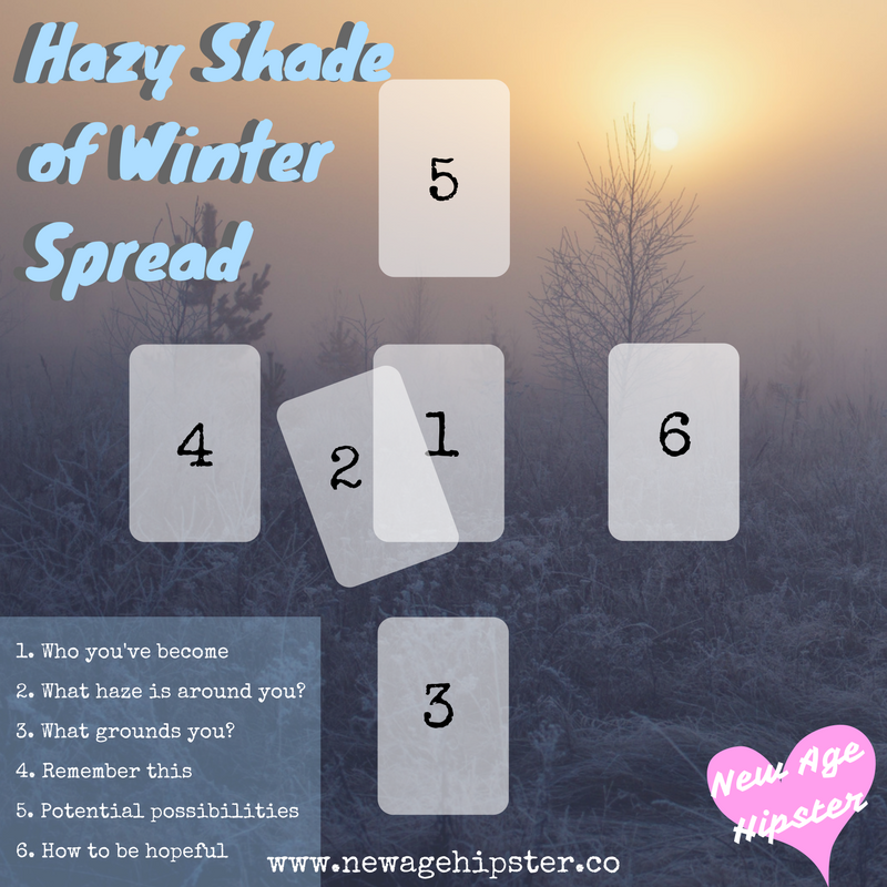 Hazy Shade of Winter Tarot Spread