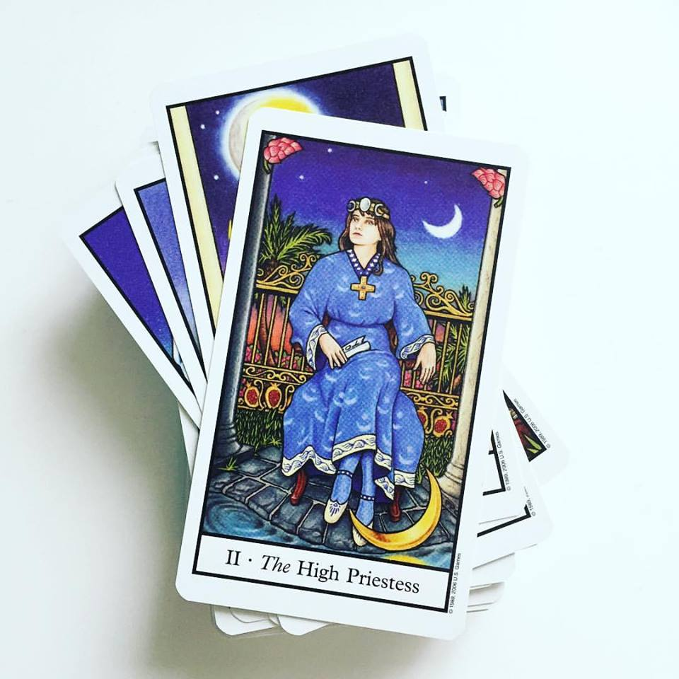 High Priestess from the Connolly Tarot